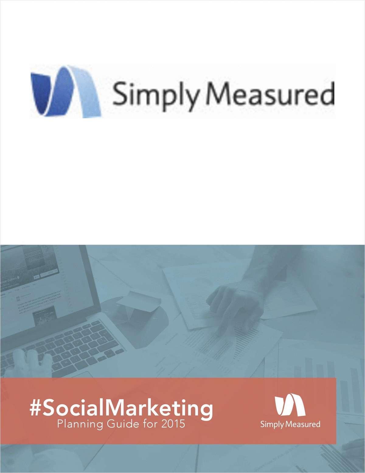 2015 Social Marketing Planning Guide