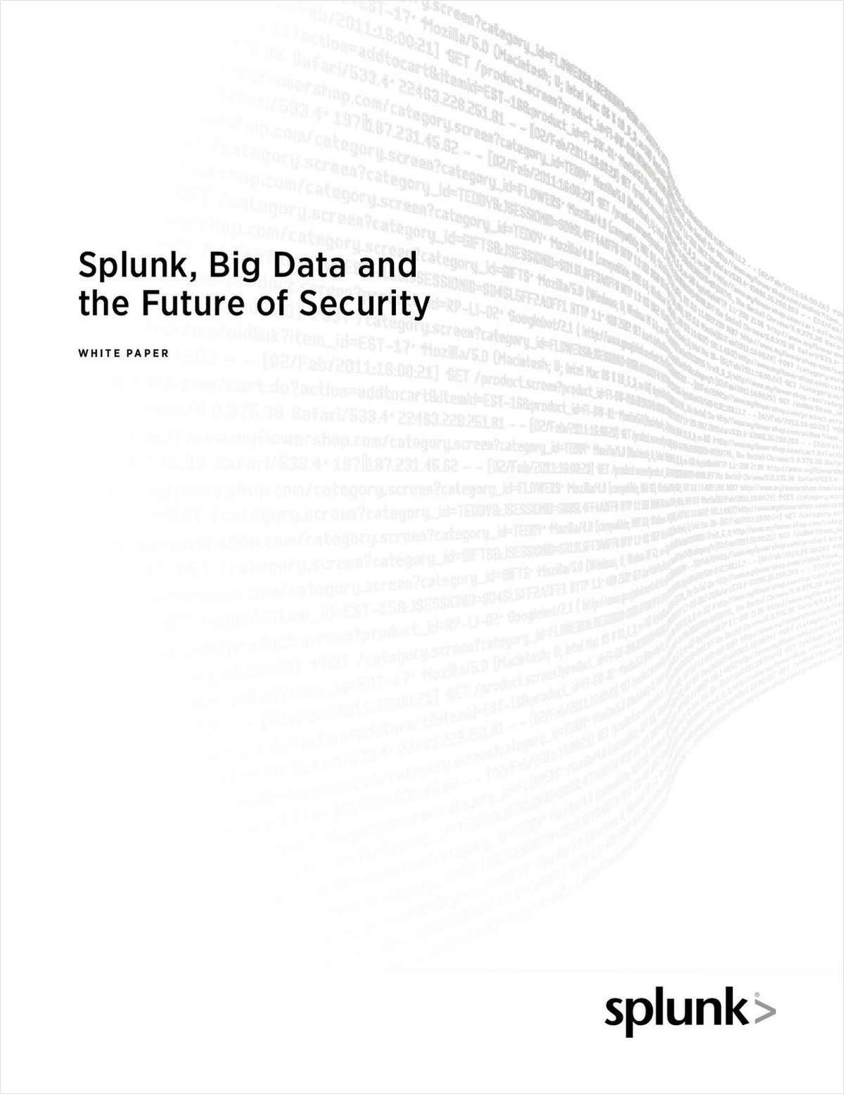Splunk, Big Data and the Future of Security