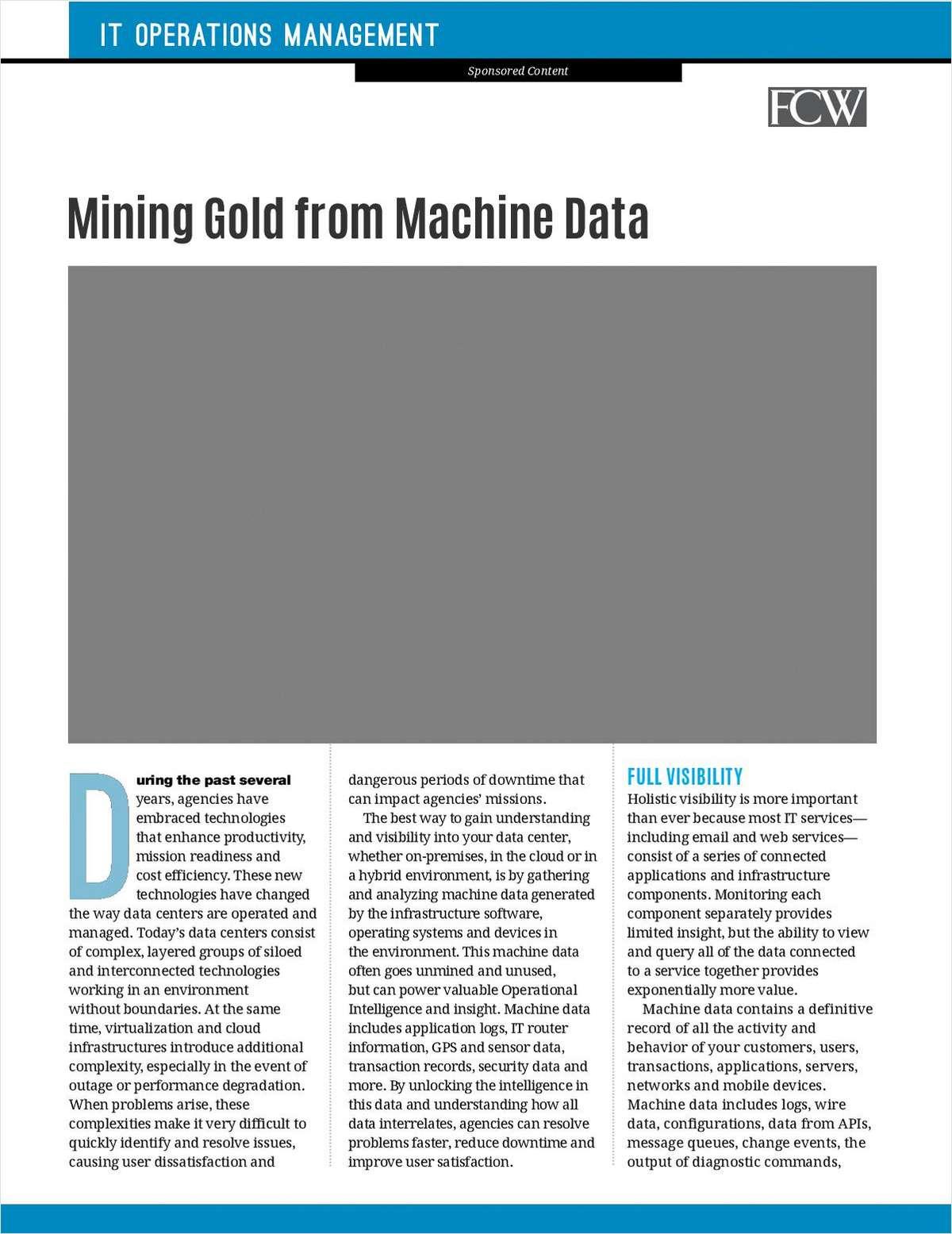 Mining Gold from Machine Data
