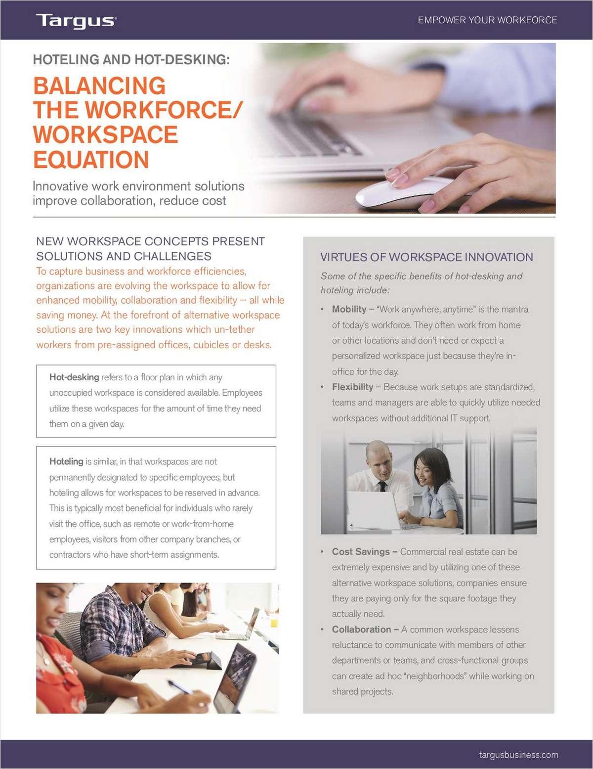 2 New Ways to Utilize Office Workspace