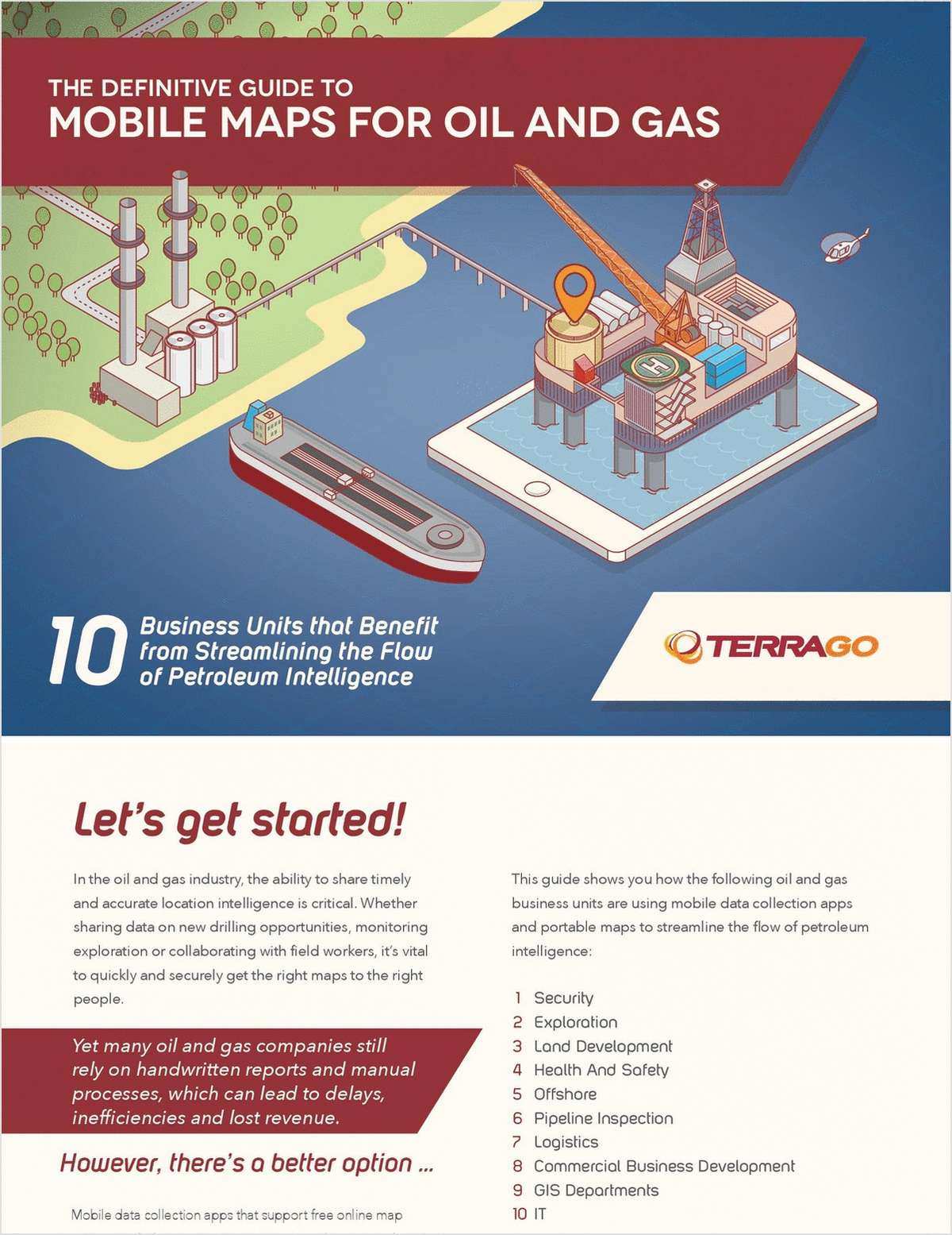 The Definitive Guide to Mobile Maps for Oil and Gas