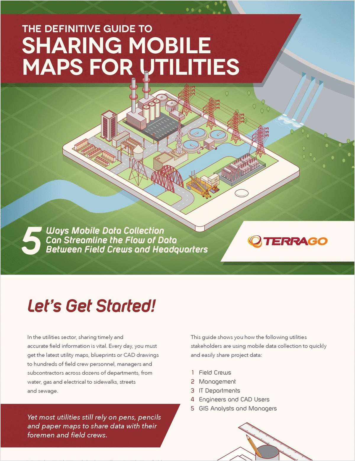 The Definitive Guide to Sharing Mobile Maps for Utilities
