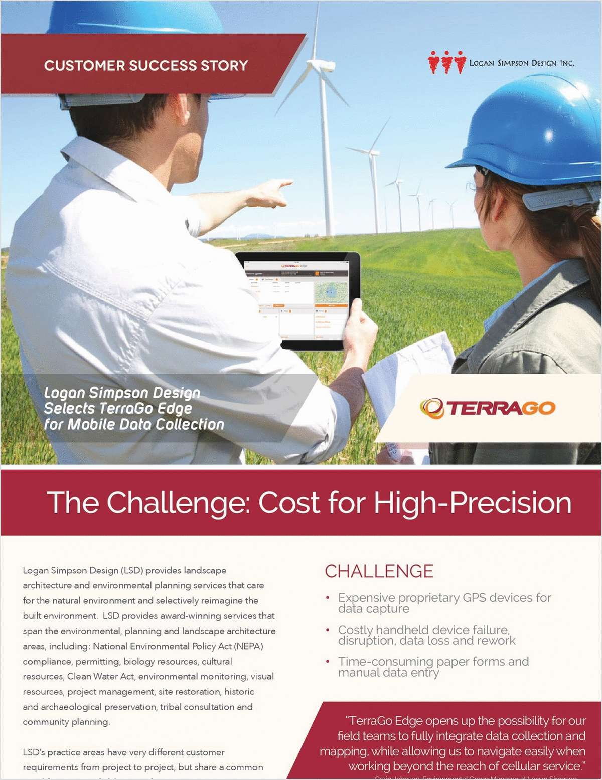 Logan Simpson Selects TerraGo Edge Mobile GPS Data Collection for Environmental Planning