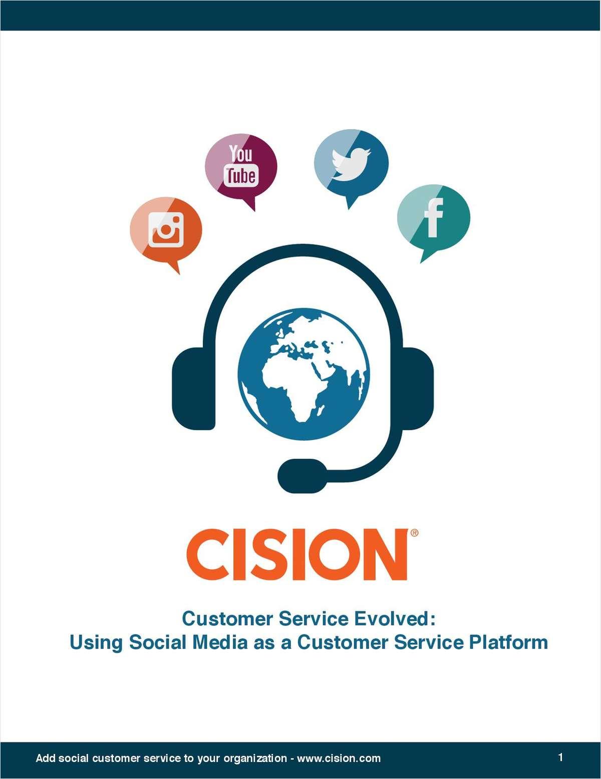 Using Social Media as a Customer Service Platform
