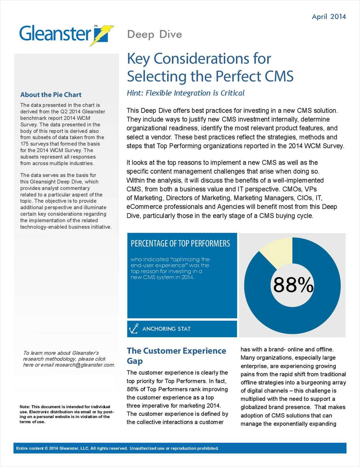 What Marketers Need to Know for Selecting the Perfect CMS