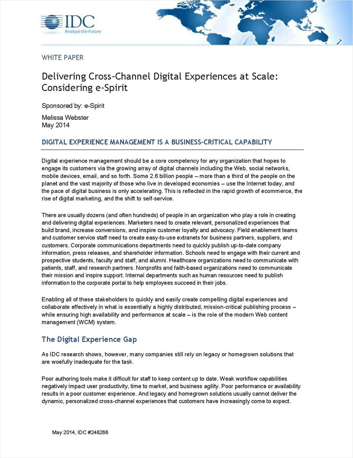 Delivering Cross-Channel Digital Experiences at Scale