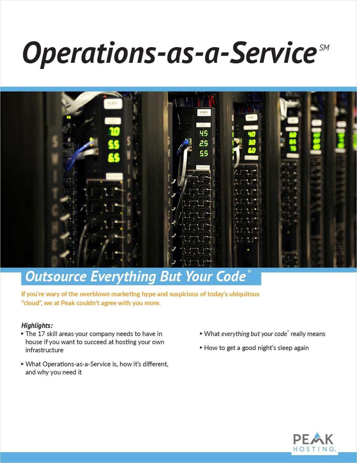 Operations-as-a-Service℠