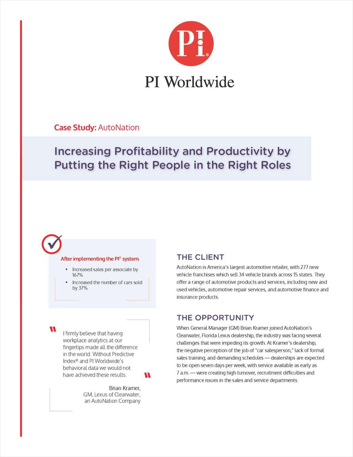 How to Increase Profits by Placing the Right People in the Right Roles