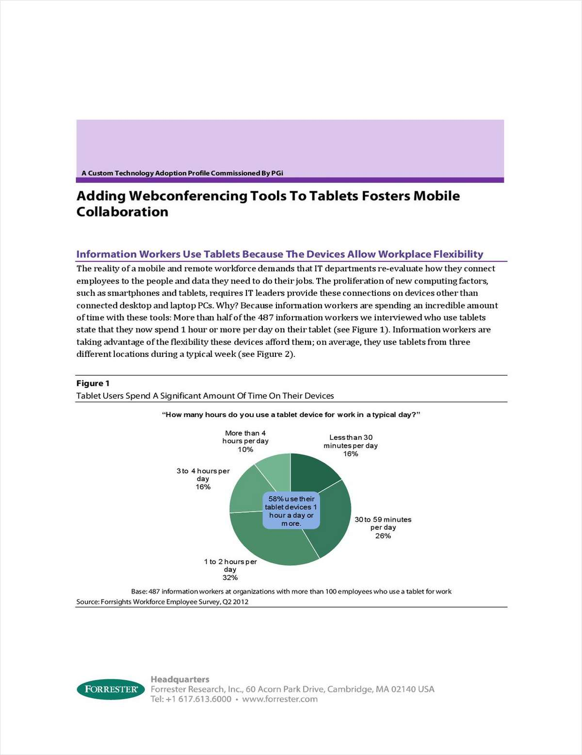 Adding Webconferencing Tools To Tablets Fosters Mobile Collaboration