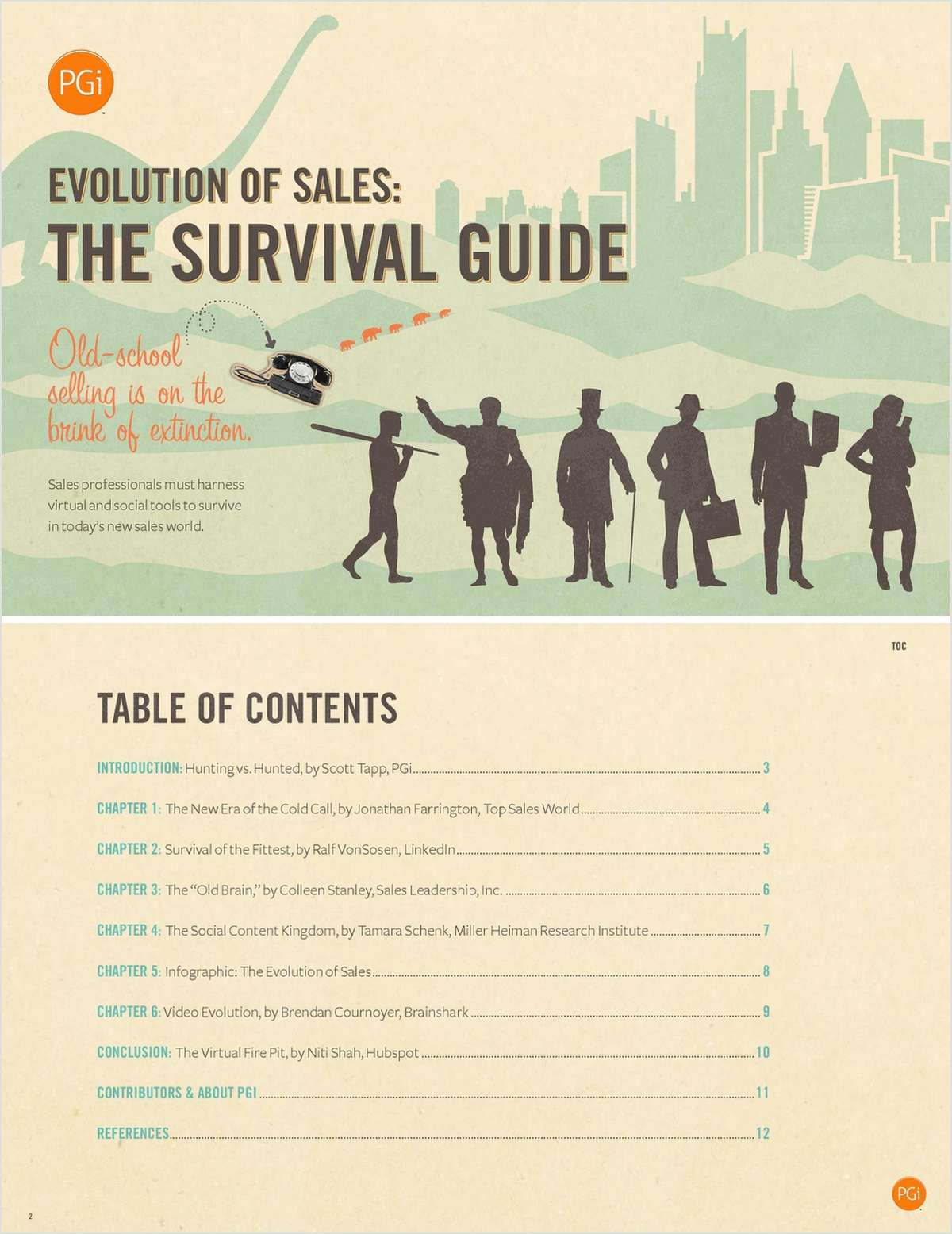 The Evolution of Sales: Survival Guide