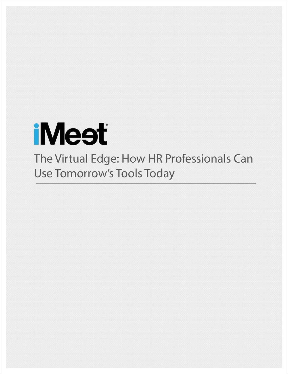 How HR Professionals Can Gain the Virtual Edge