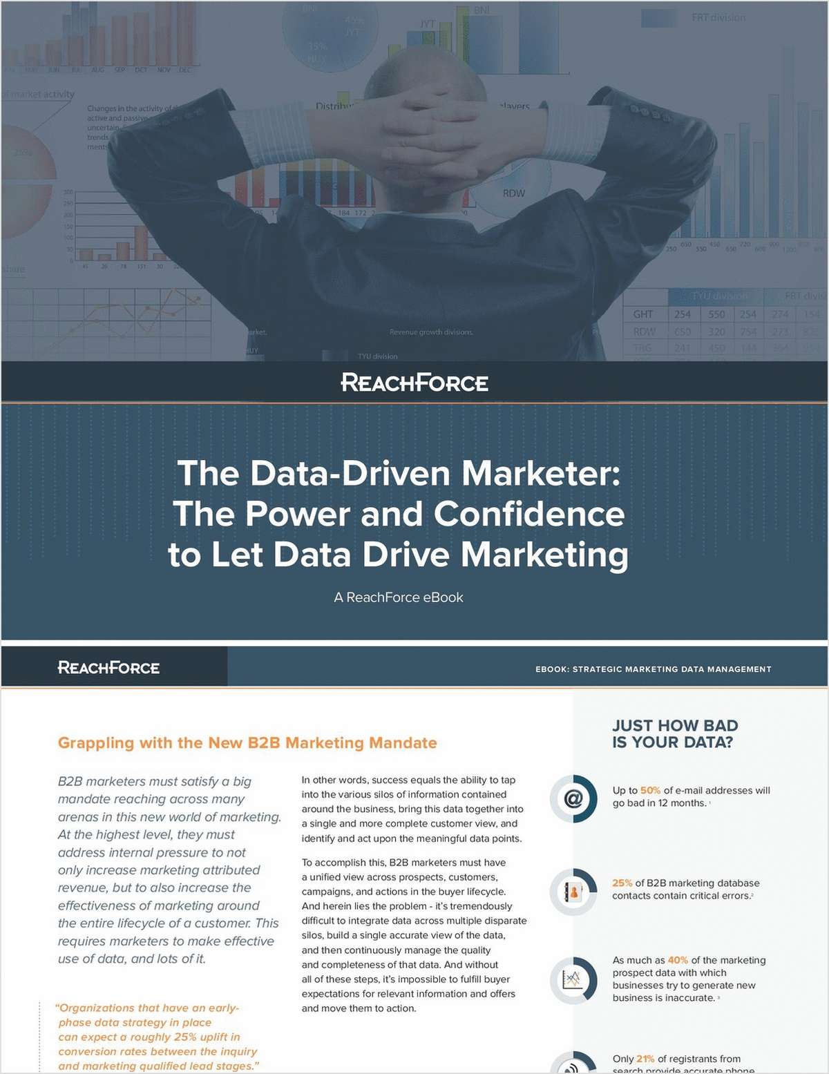 The Data-Driven Marketer: The Power and Confidence to Let Data Drive Marketing