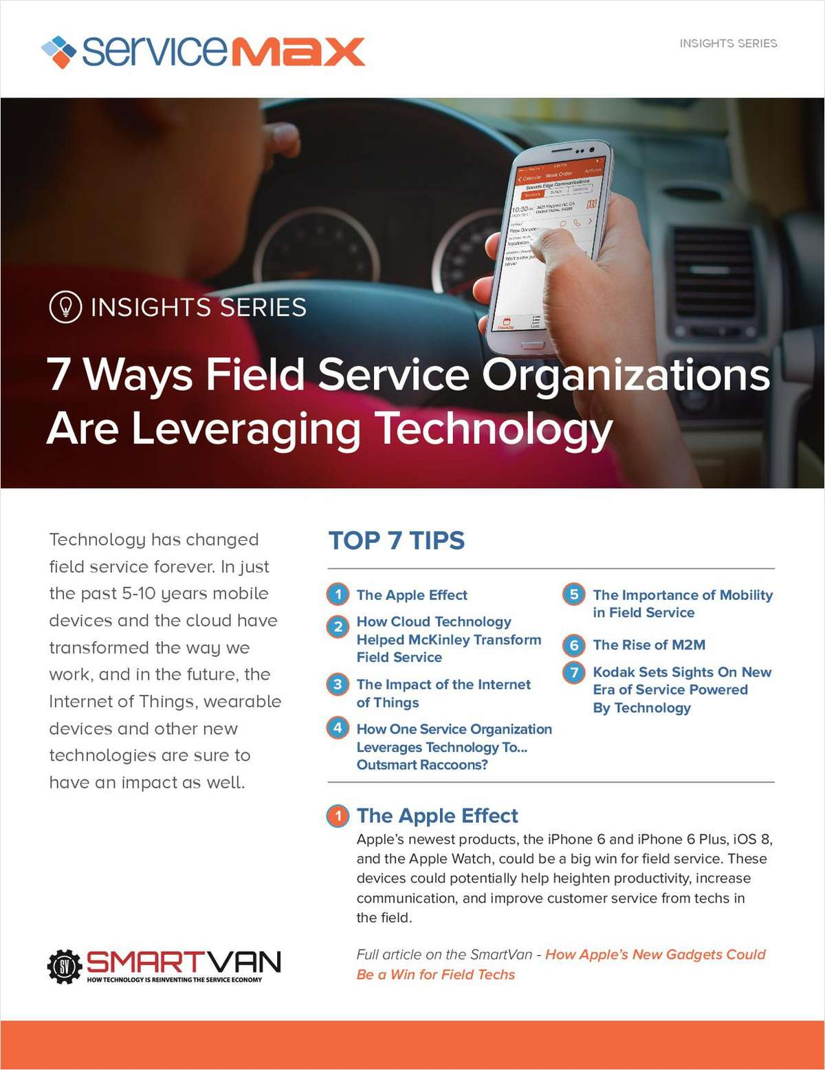 7 Ways Field Service Organizations are Leveraging Technology