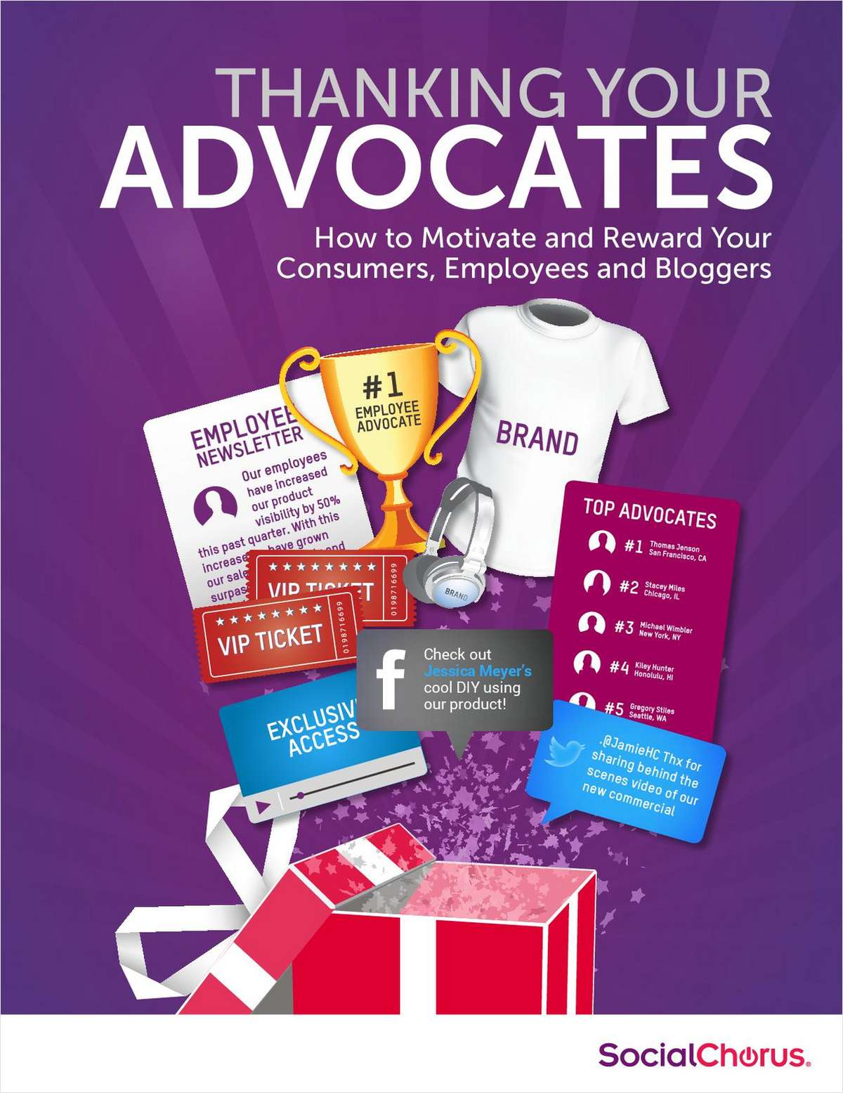 Motivate and Reward Your Customer, Employee and Blogger Advocates