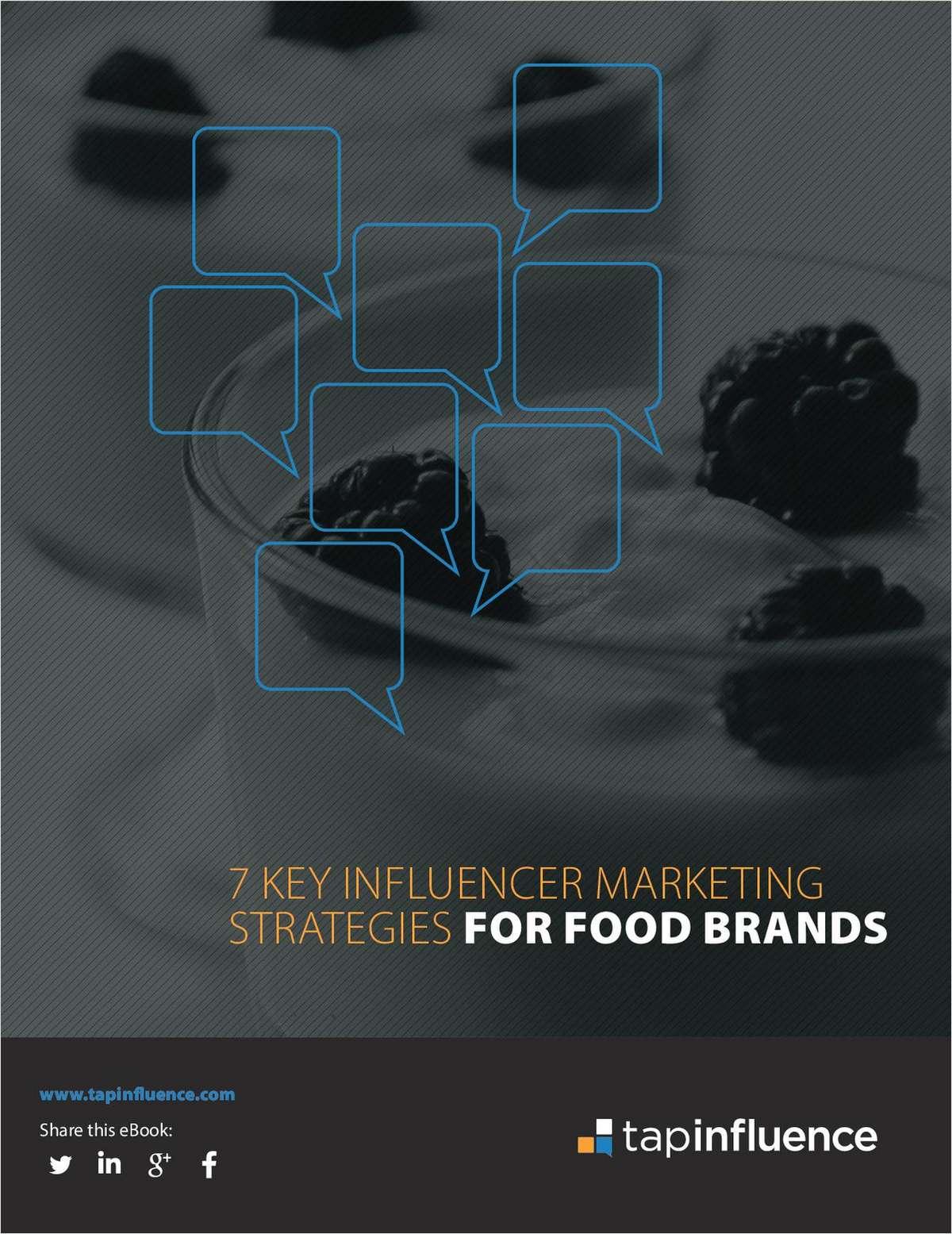7 Key Influencer Marketing Strategies for Food Brands