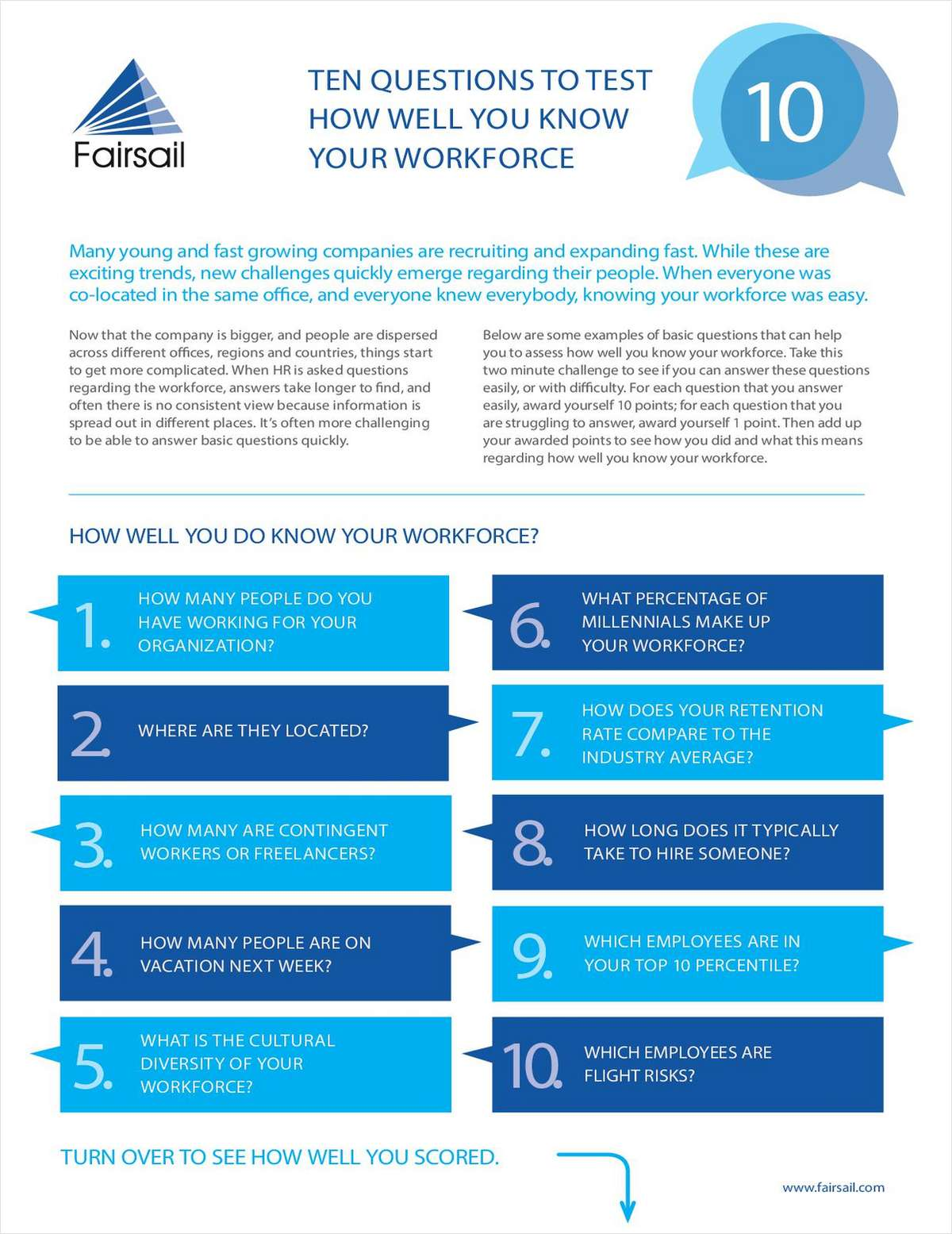 How Well Do You Know Your Workforce?