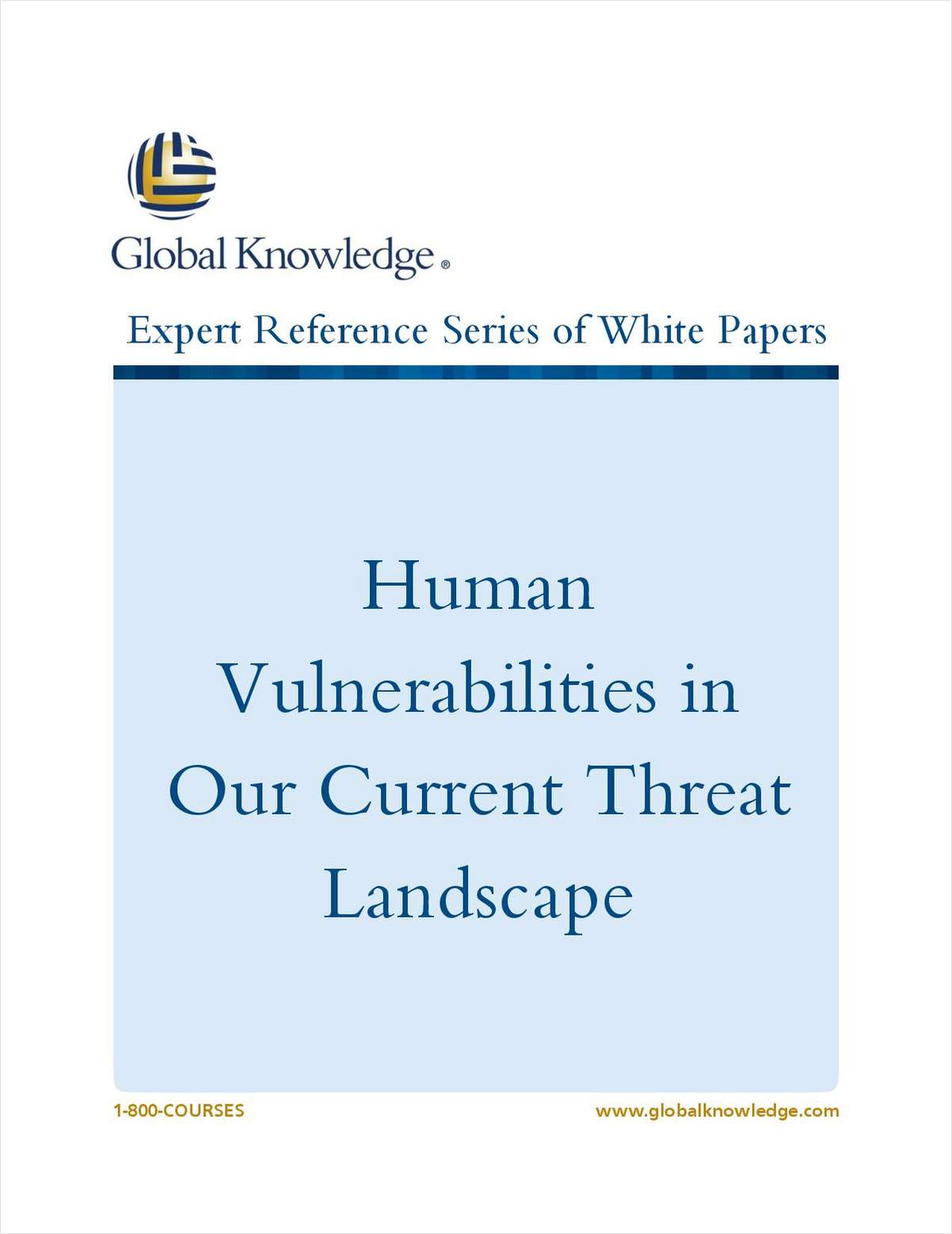 Human Vulnerabilities in Our Current Threat Landscape