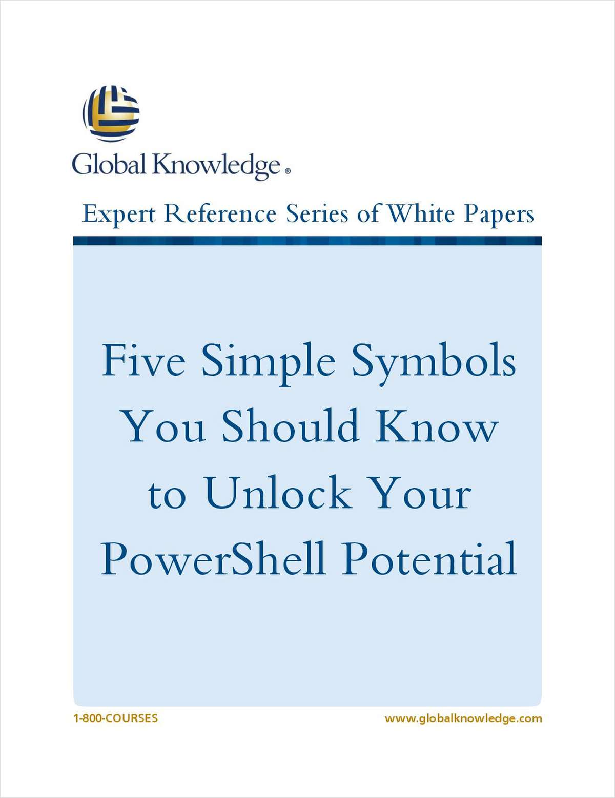 Five Simple Symbols You Should Know to Unlock Your PowerShell Potential