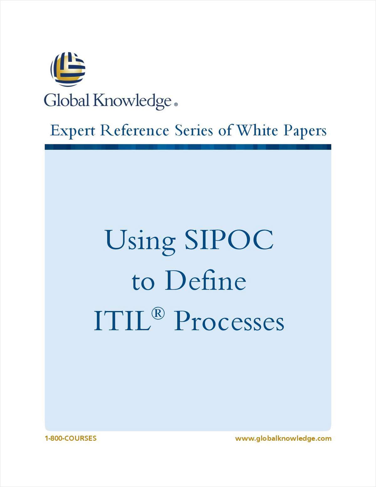 Using SIPOC to Define ITIL® Processes