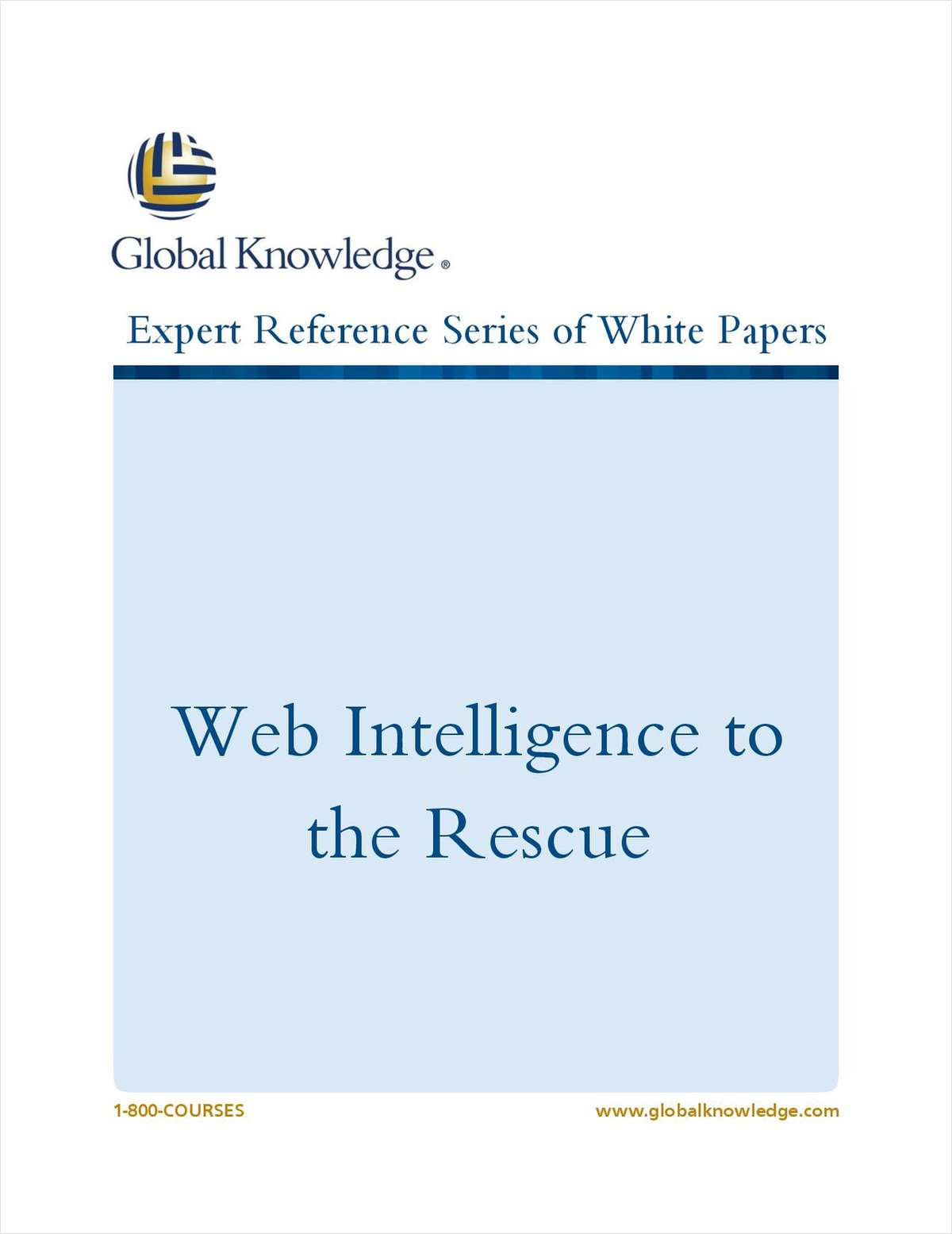 Web Intelligence to the Rescue