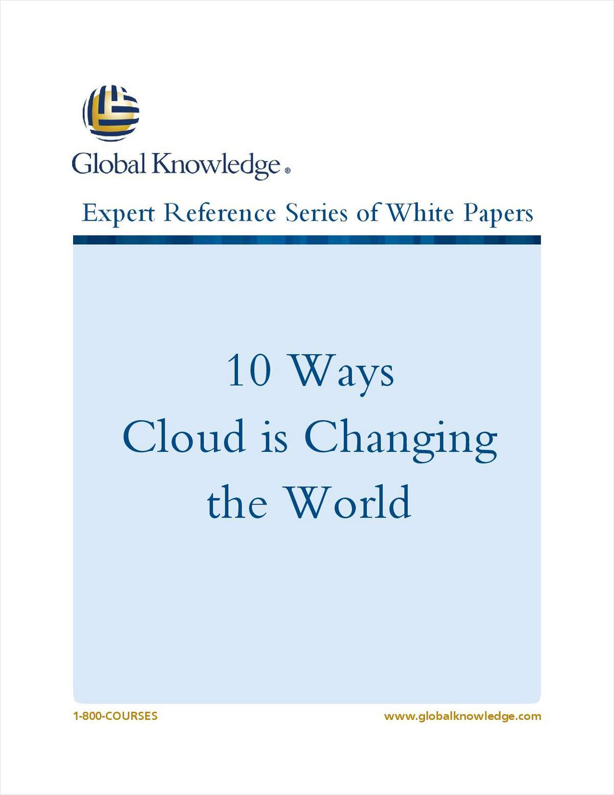 10 Ways Cloud is Changing the World