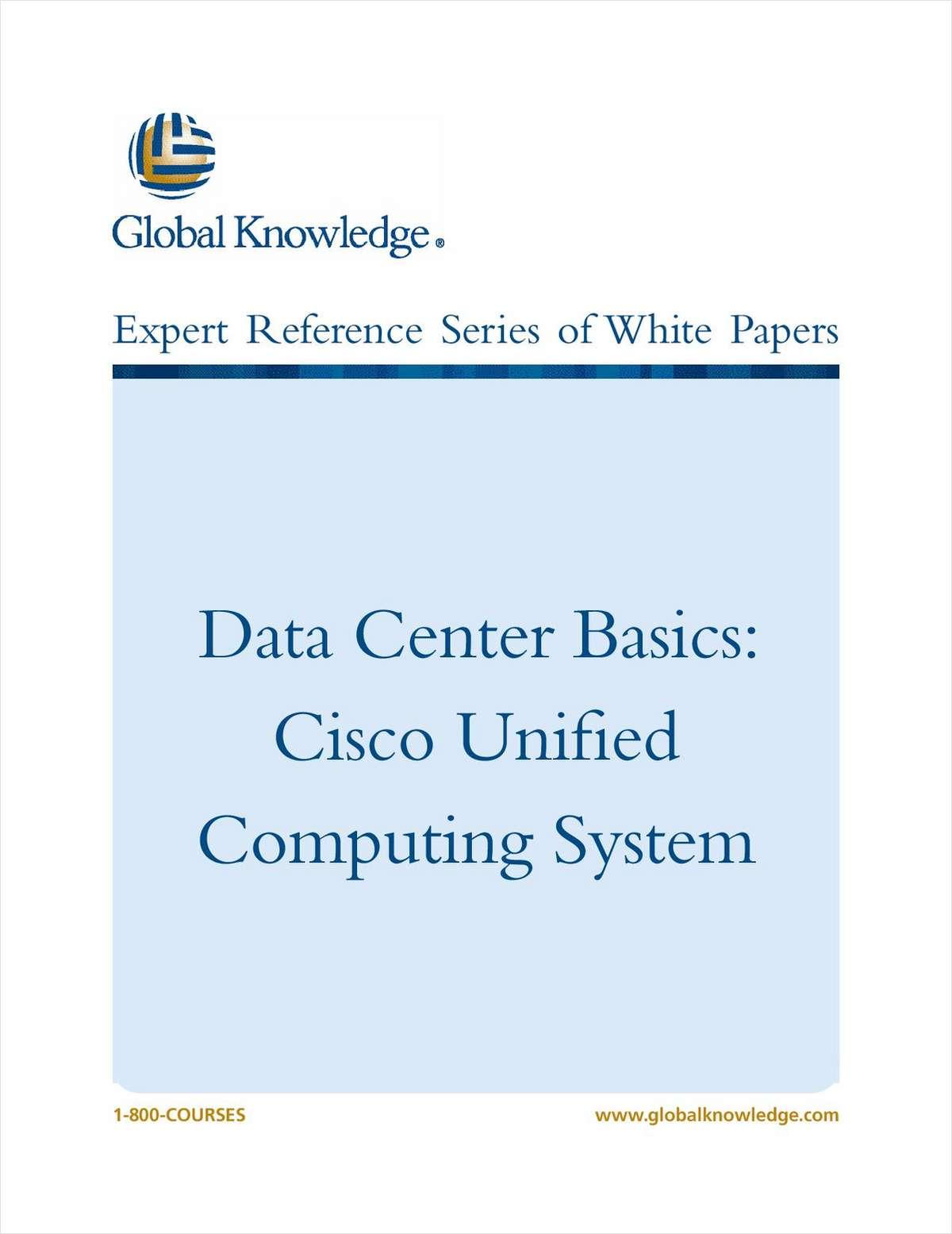 Data Center Basics - Cisco UCS