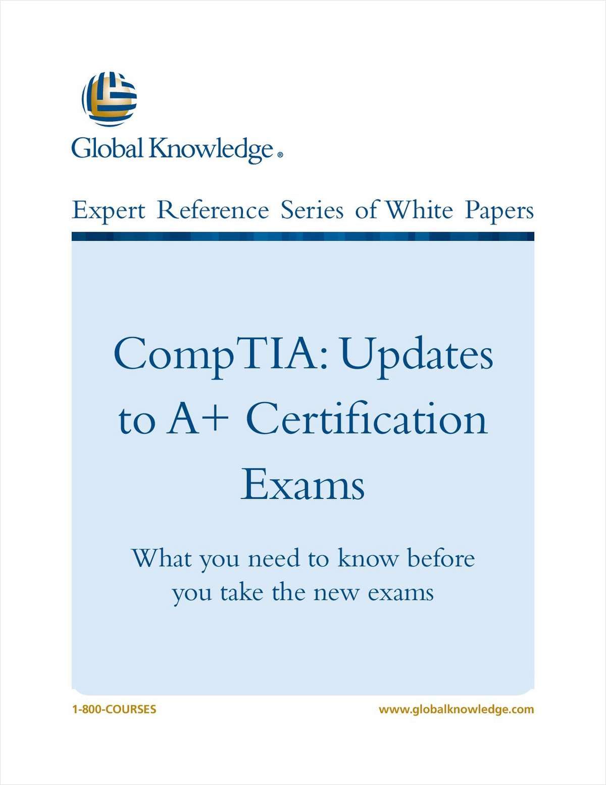 CompTIA: Updates to A+ Certification Exams