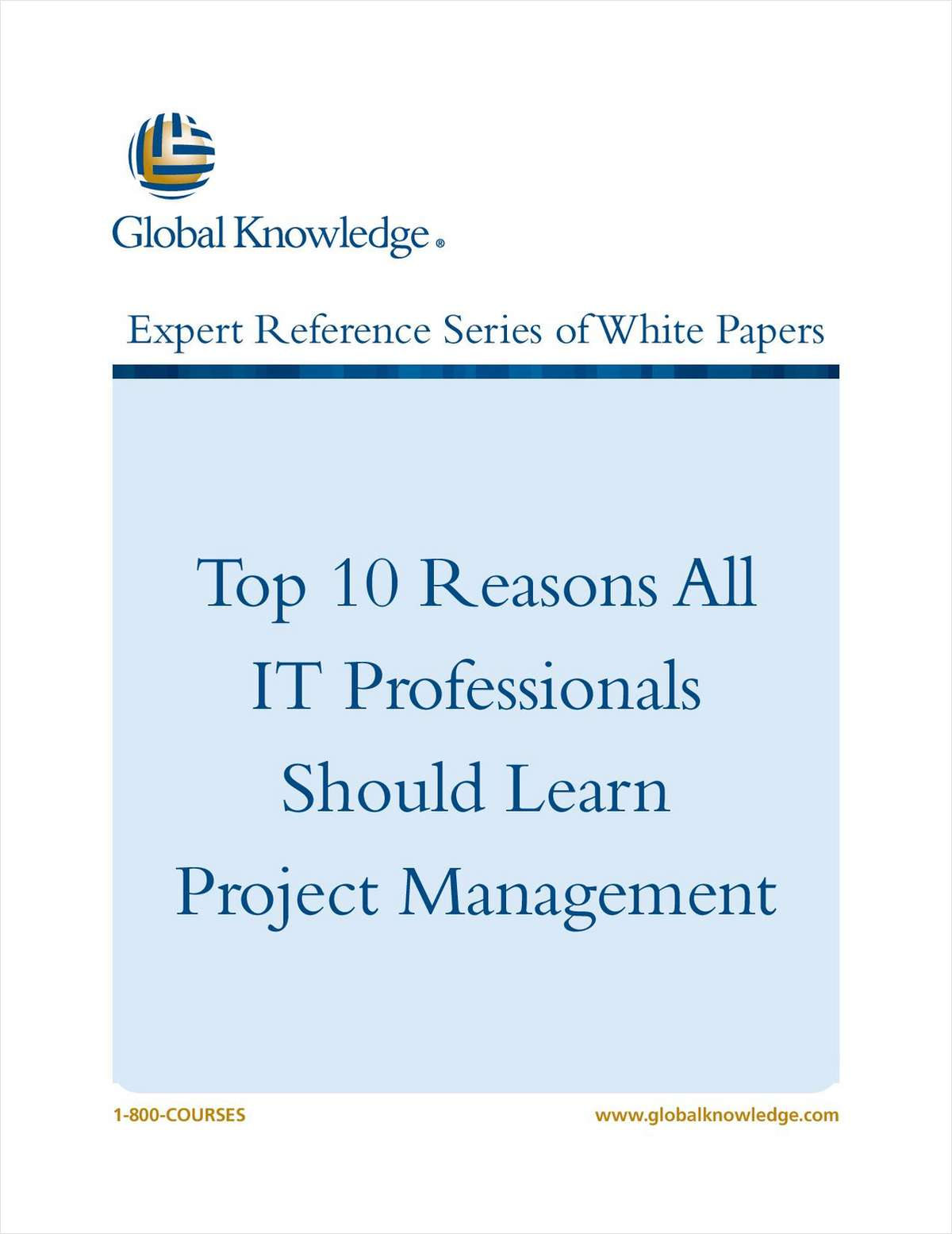 The Top 10 Reasons all IT Professionals Should Learn Project Management