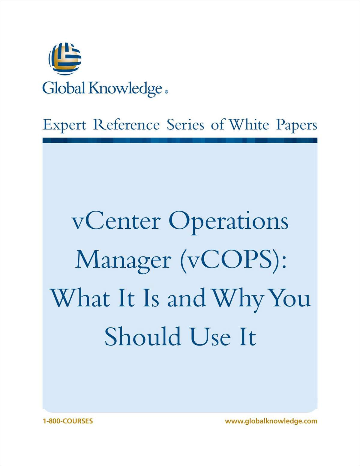 vCenter Operations Manager (vCOPS): What It Is and Why You Should Use It
