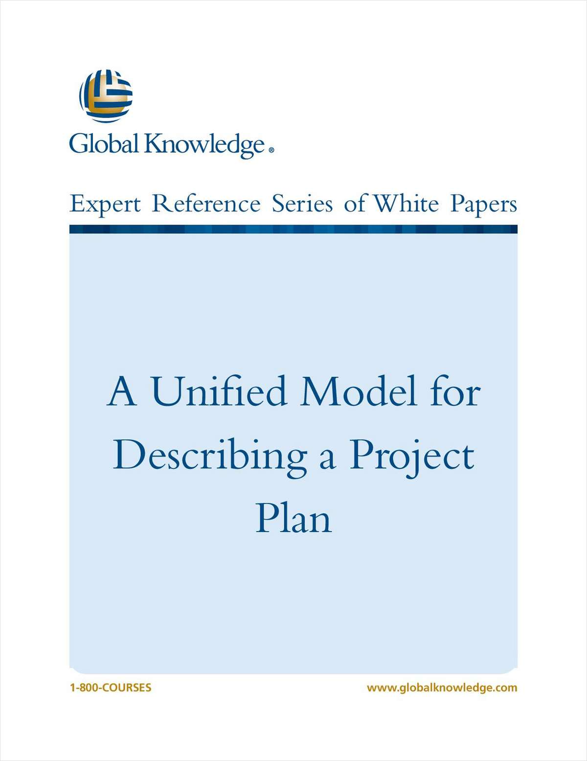 A Unified Model for Describing a Project Plan