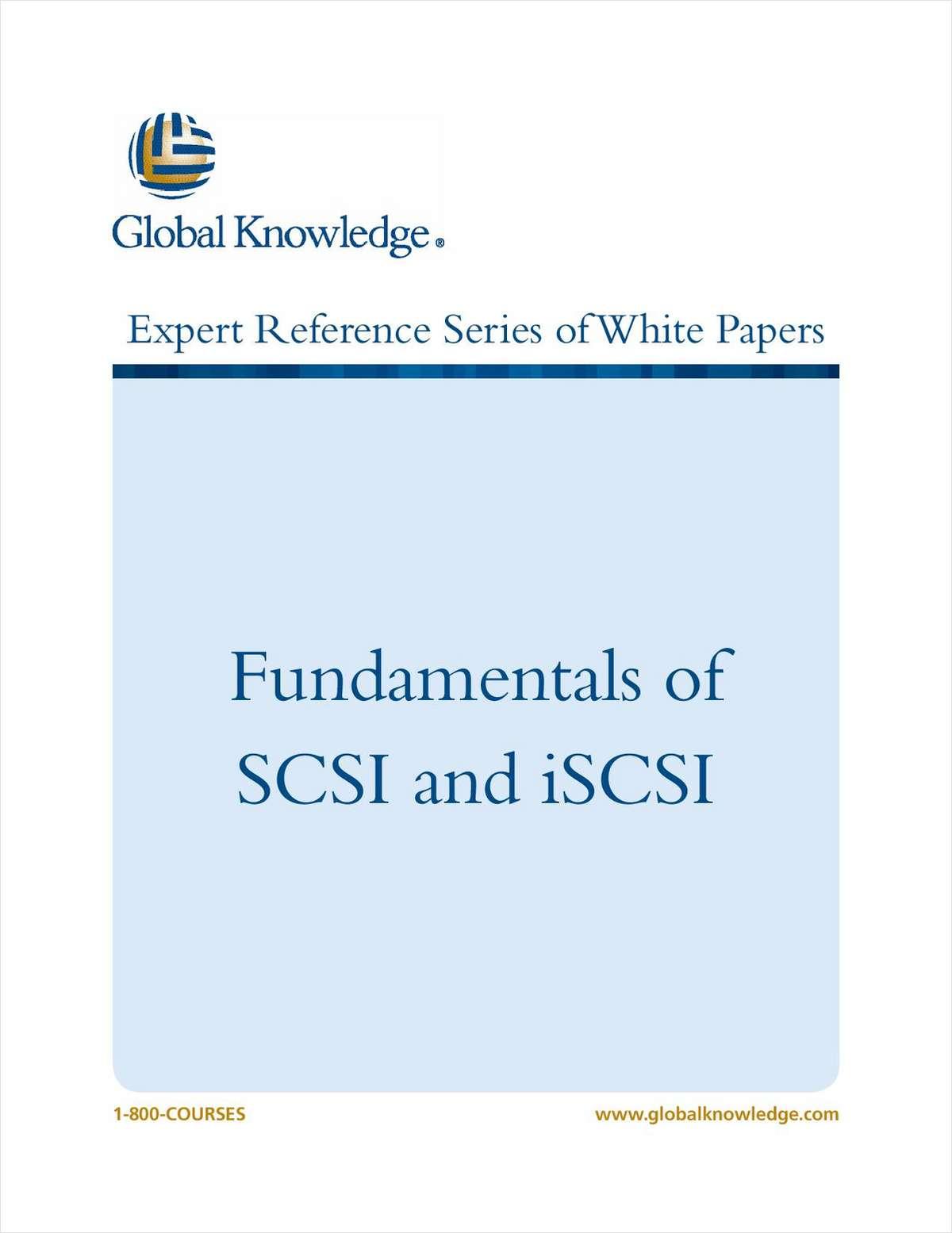 Fundamentals of SCSI and iSCSI
