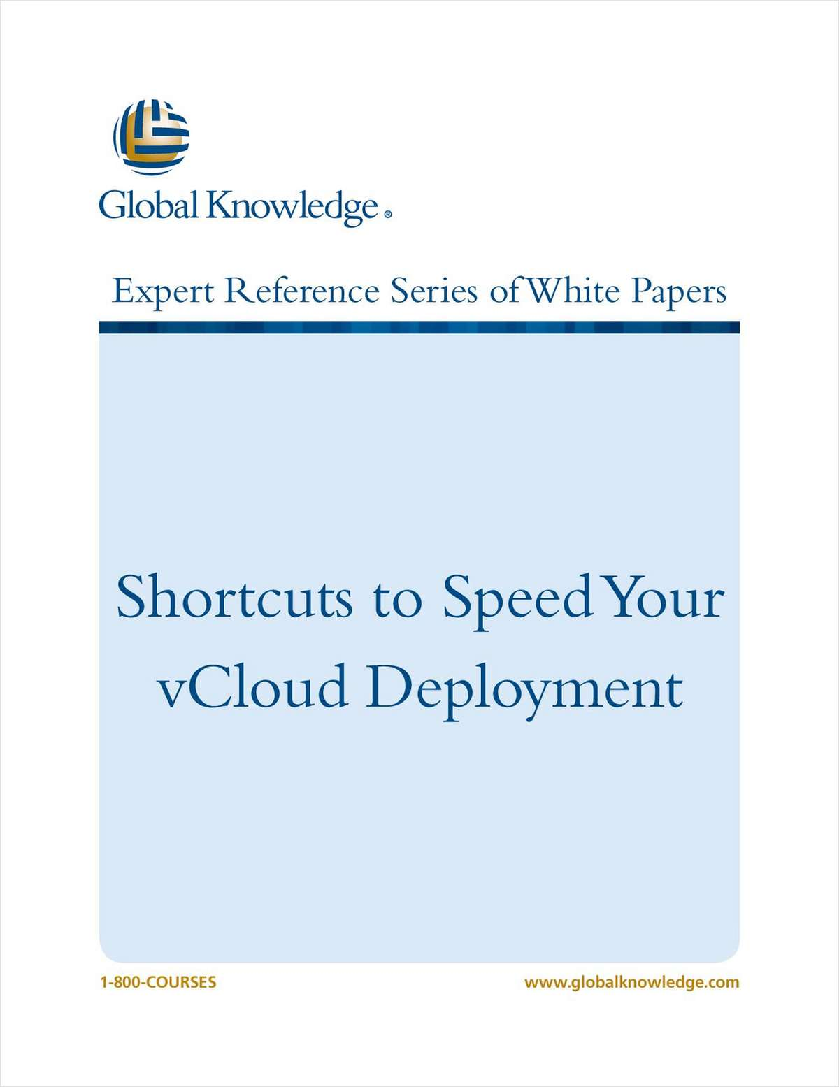 Shortcuts to Speed Your vCloud Deployment
