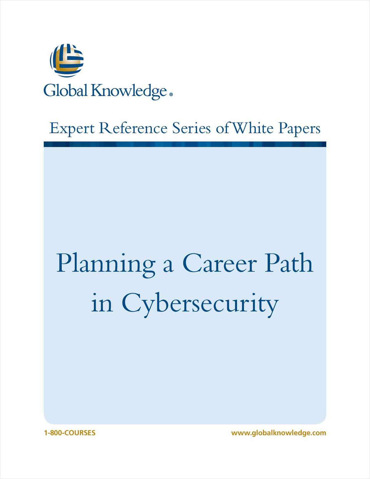 Planning a Career Path in Cybersecurity