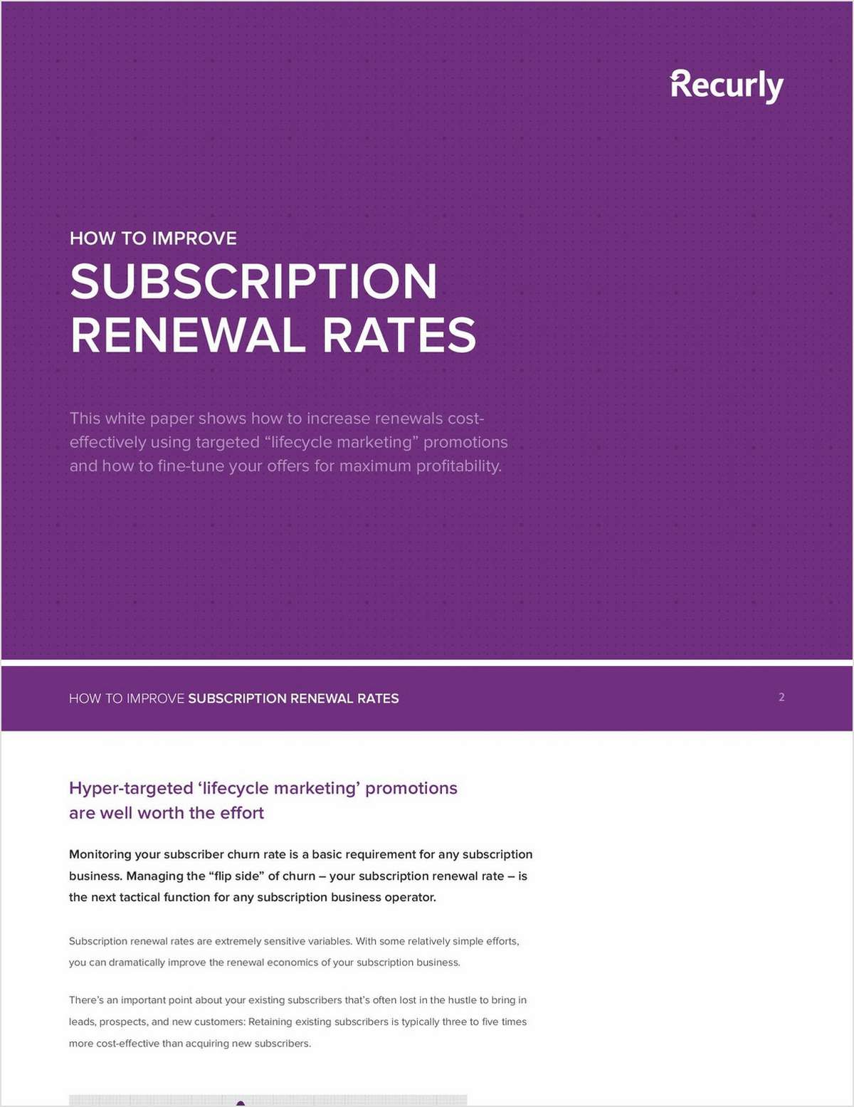 How to Improve Subscription Renewal Rates