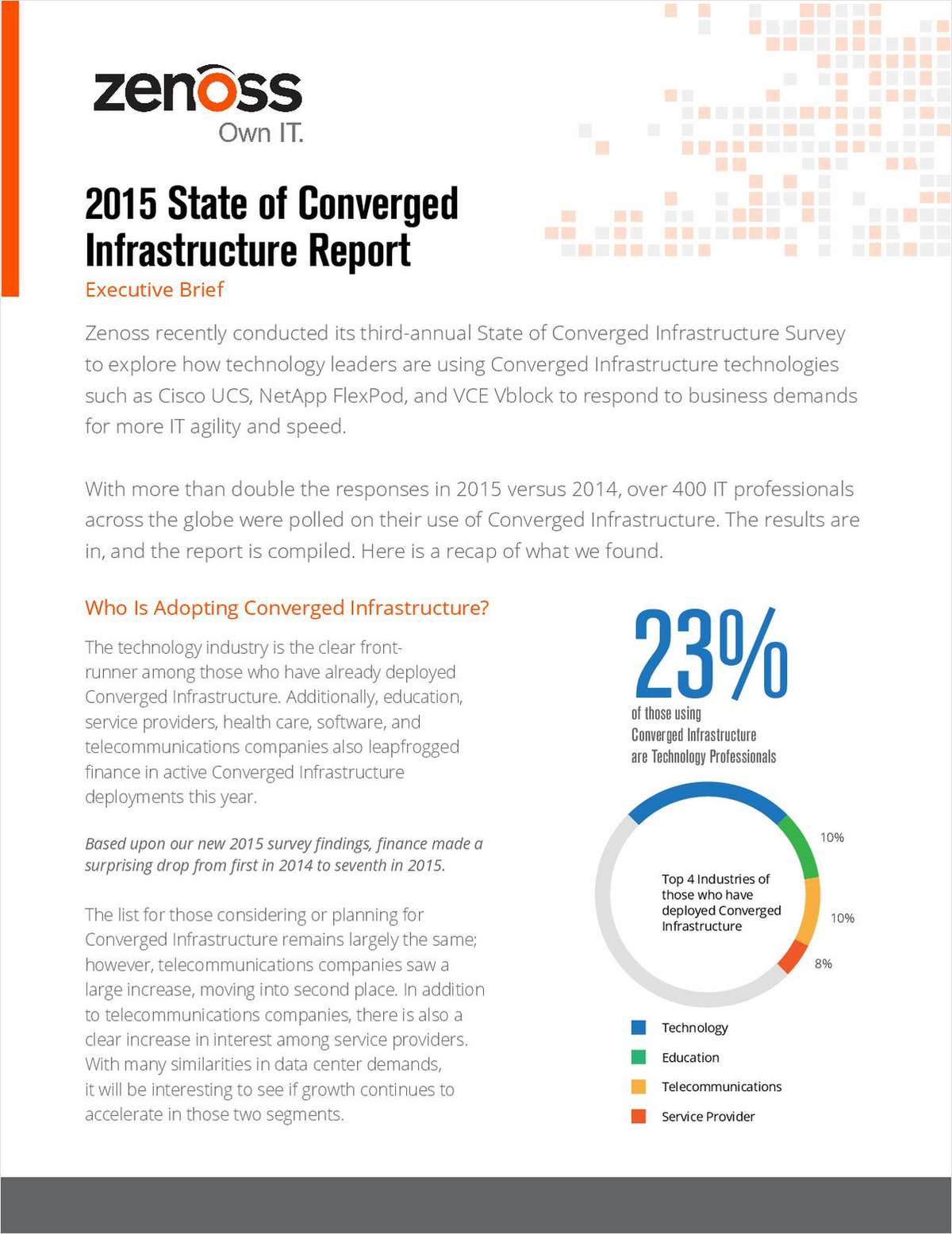 2015 State of Converged Infrastructure Report