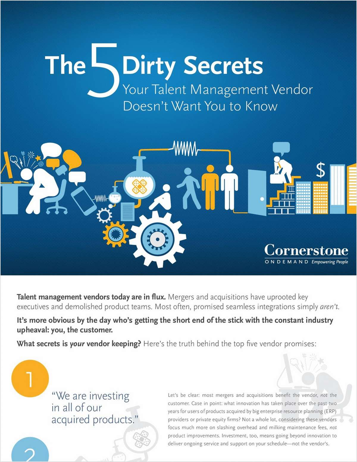 The 5 Dirty Secrets Your Talent Management Vendor Doesn't Want You to Know