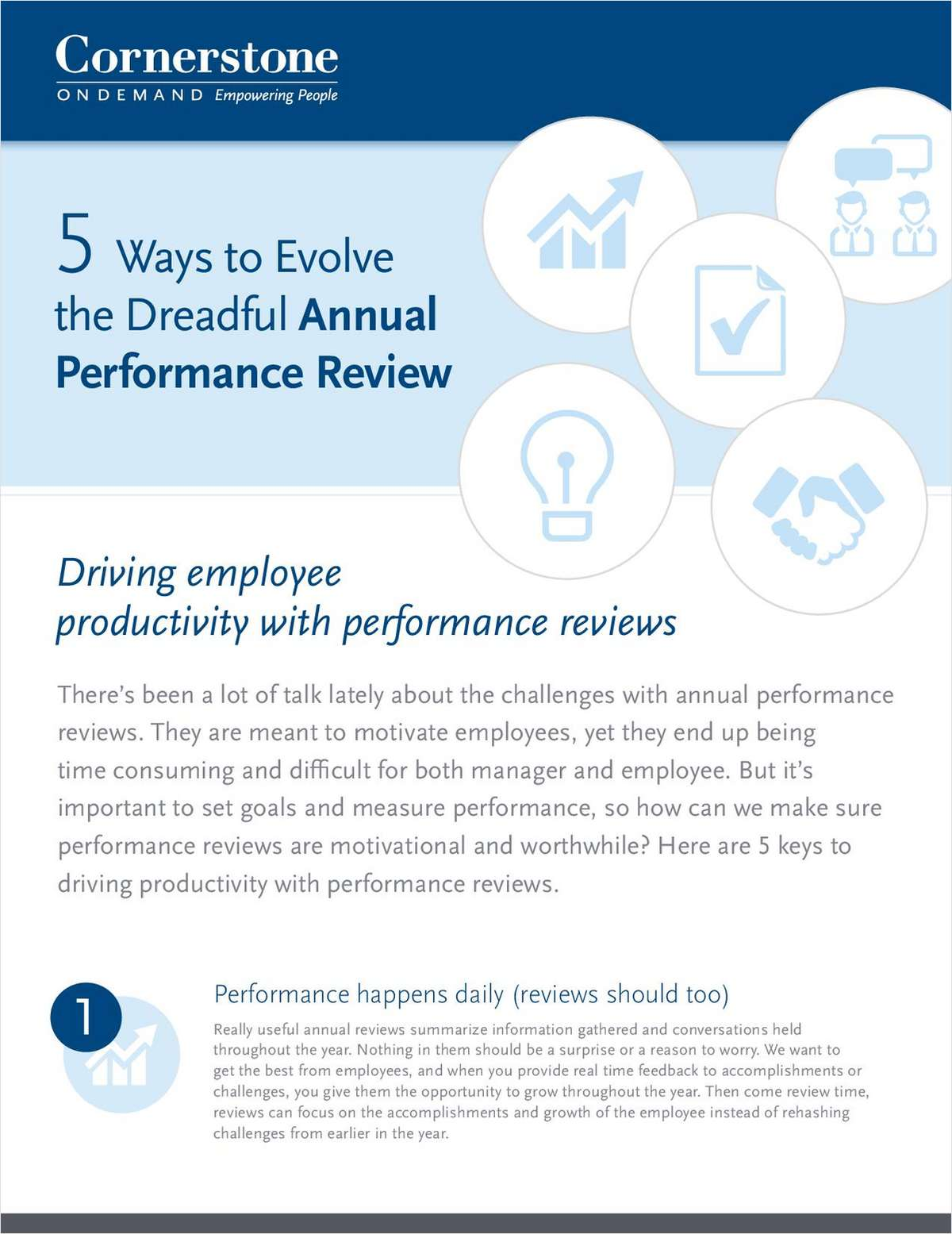 5 Ways to Evolve the Dreadful Annual Performance Review