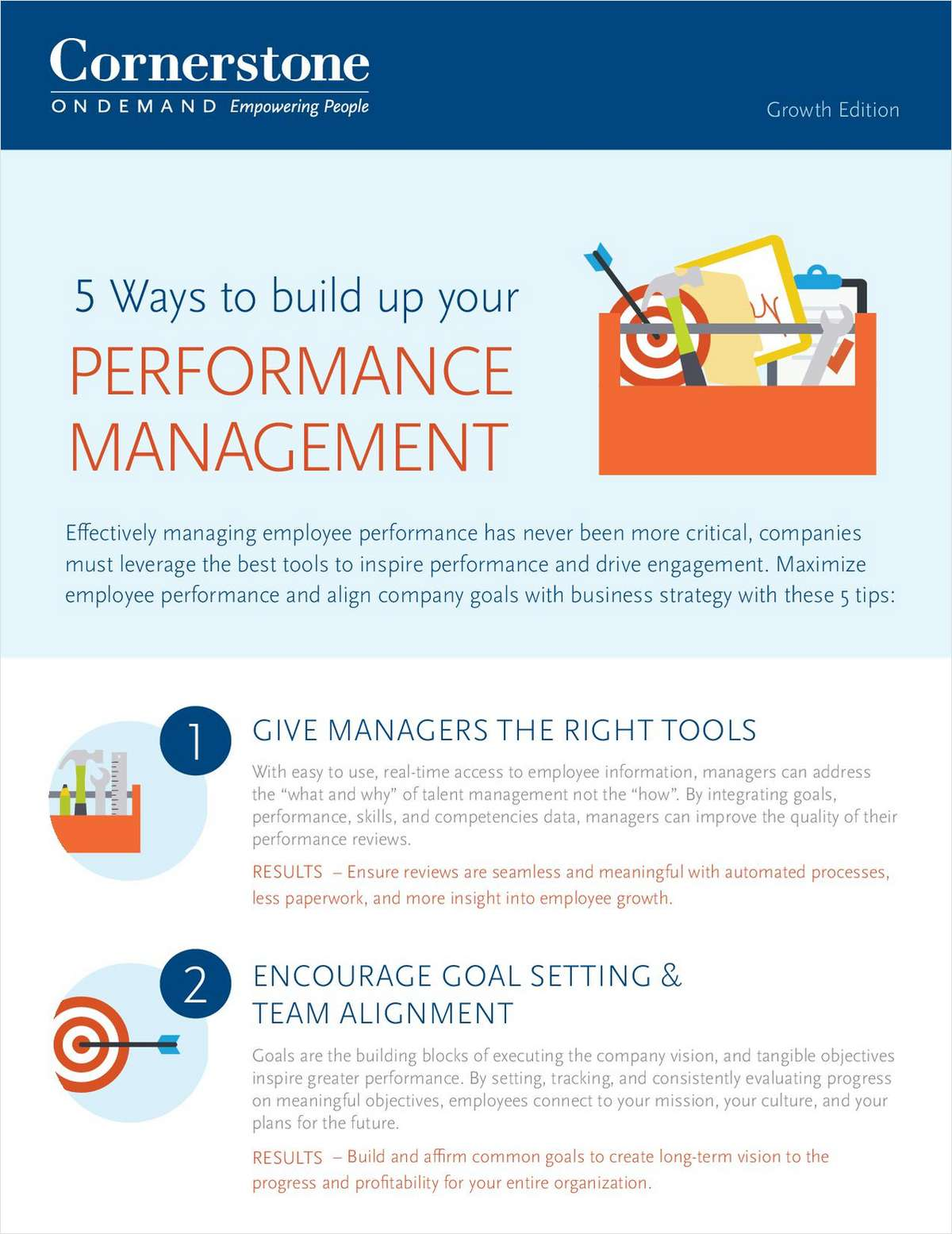 5 Ways to Build up Your Performance Management
