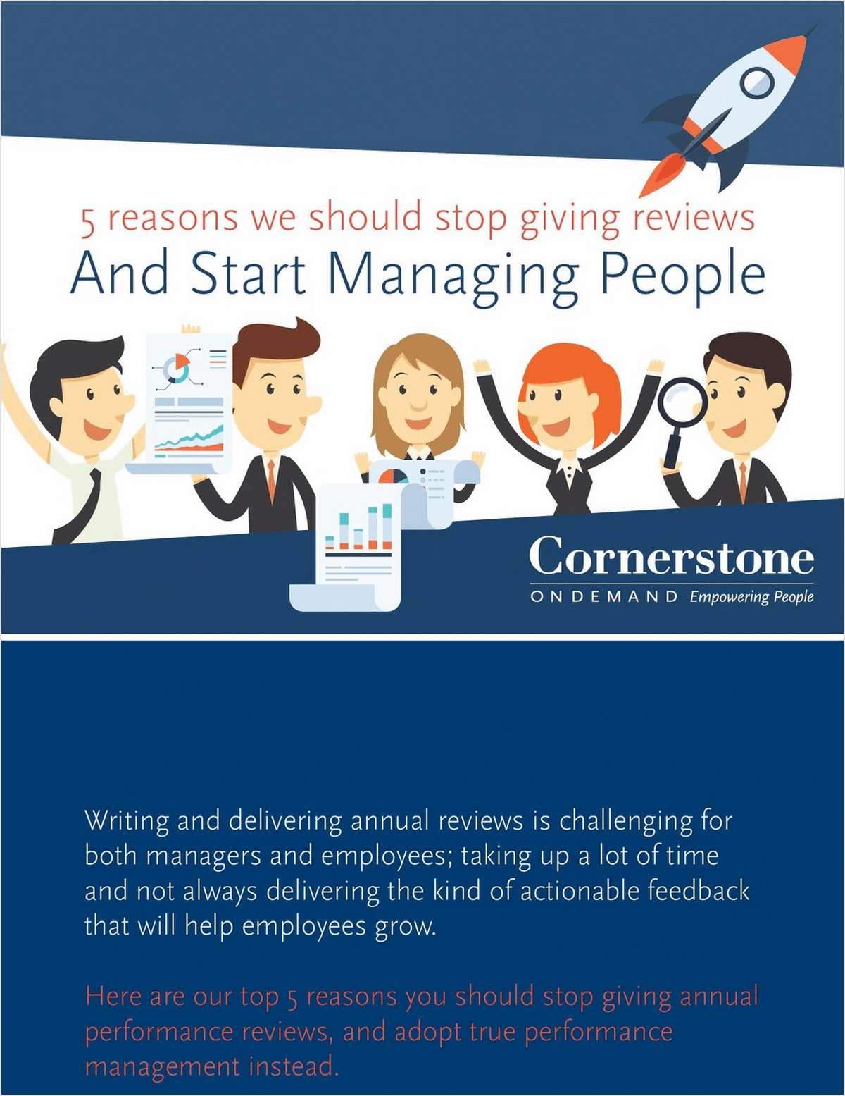 5 Reasons You Should Stop Giving Performance Reviews
