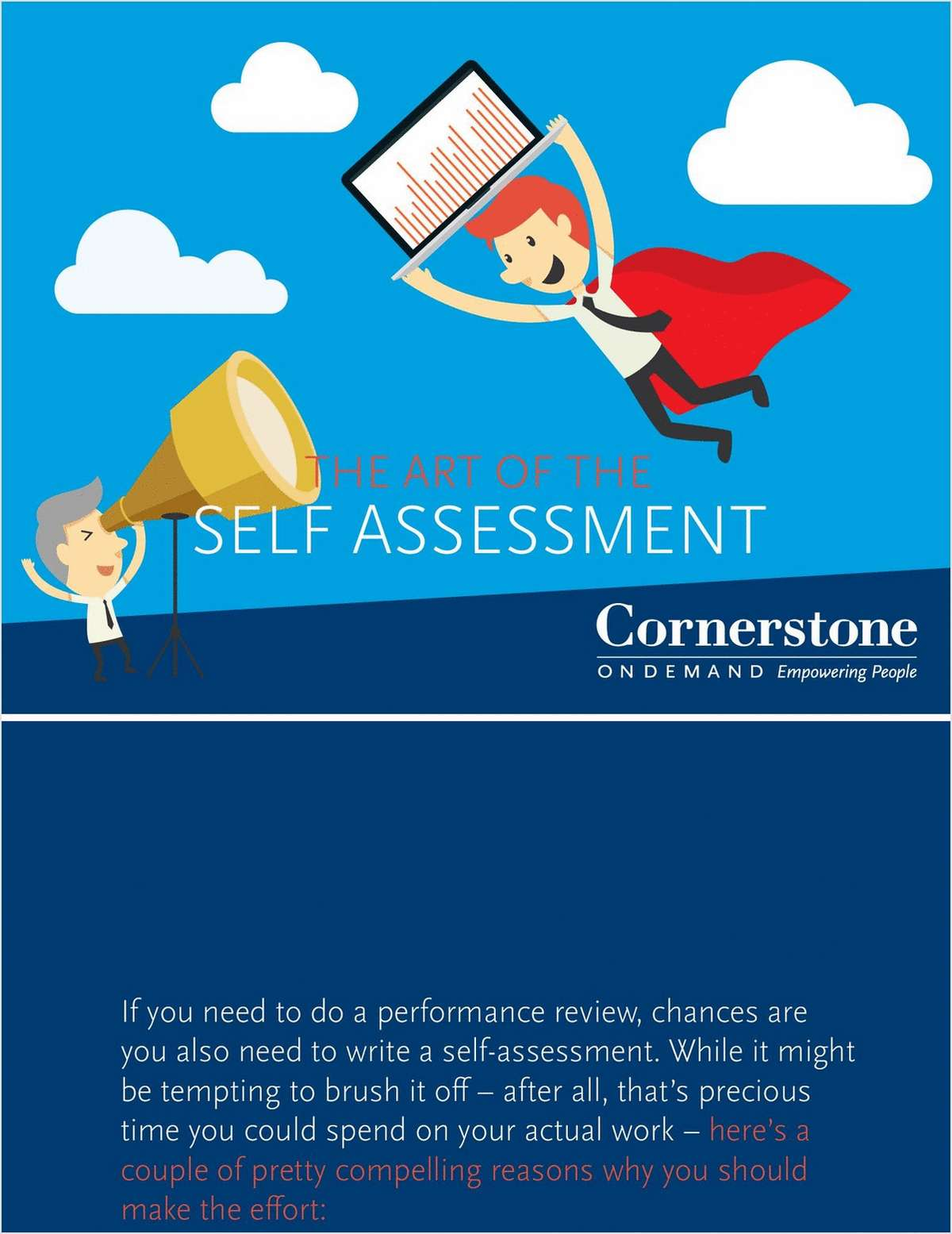 The Art of the Self Assessment