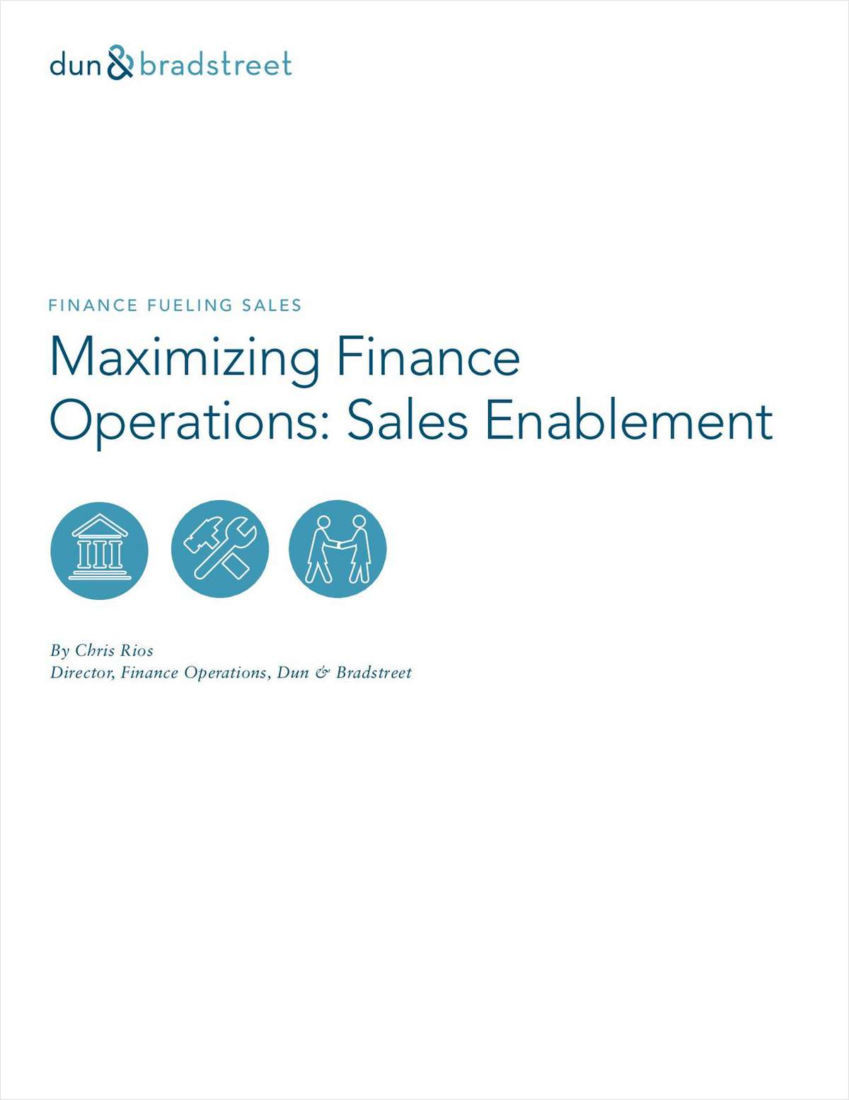 Maximizing Finance Operations: Sales Enablement