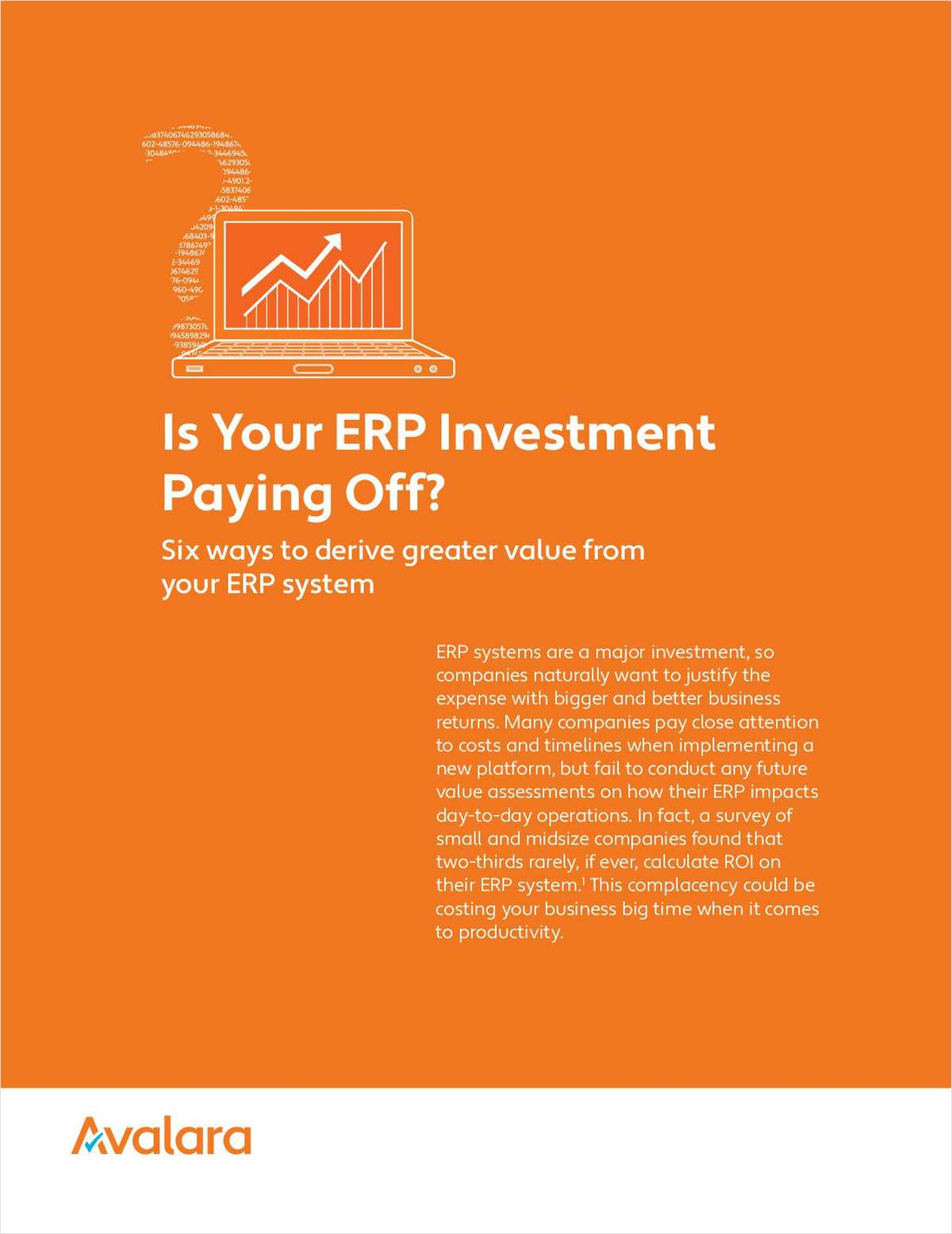 Is Your ERP Investment Paying Off?