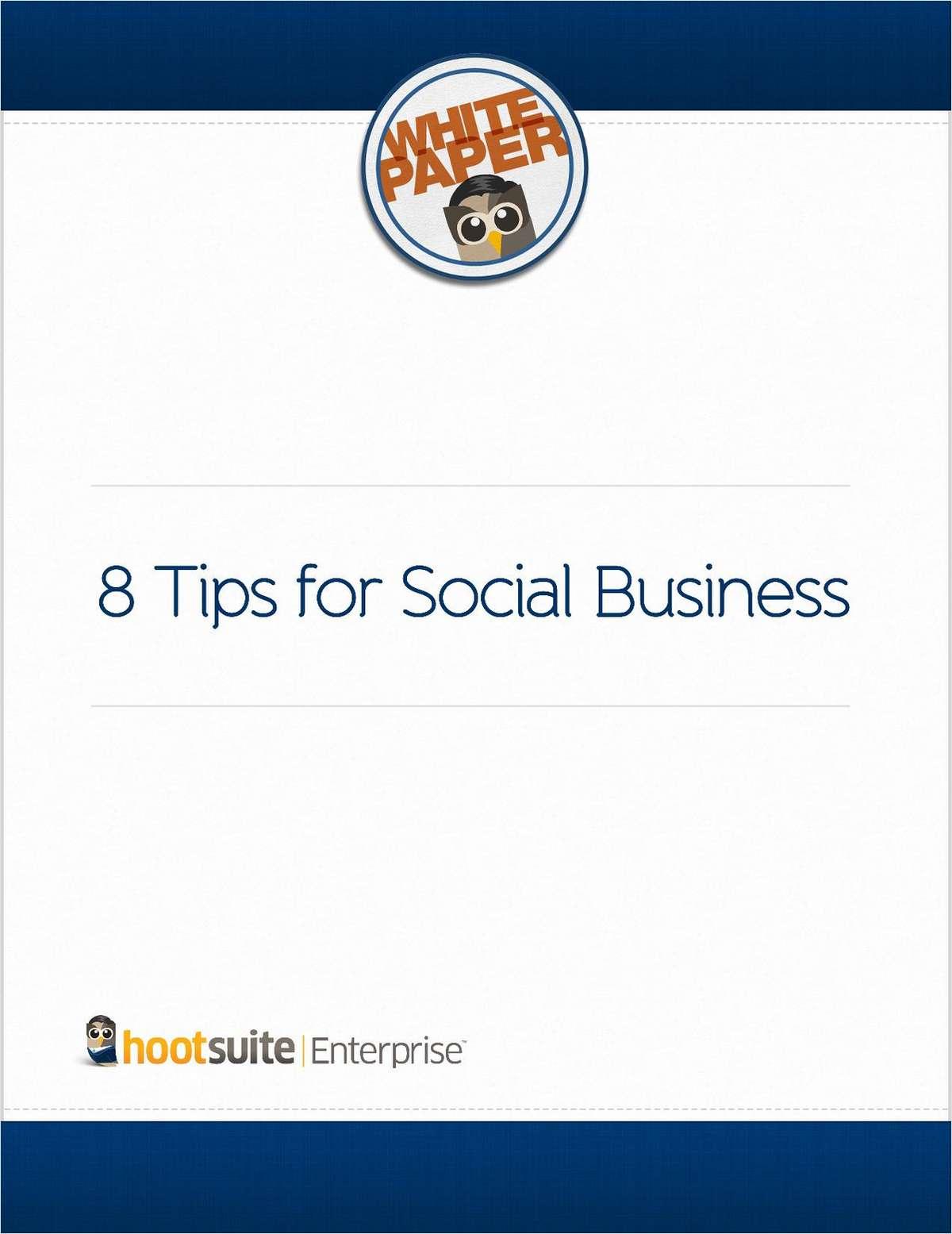 8 Tips for Social Business