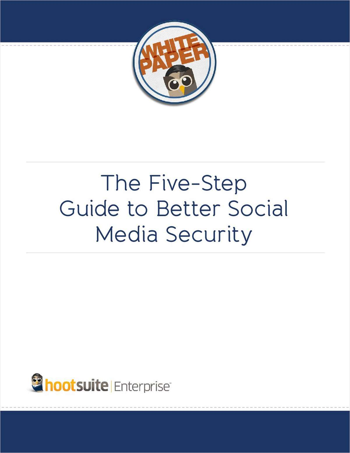 The Five-Step Guide for Better Social Media Security