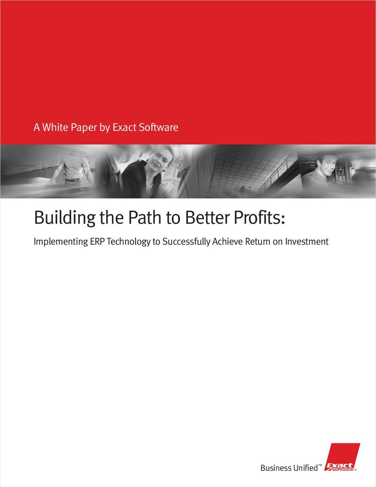 Build the Path to Better Profits: Implementing ERP Technology Successfully