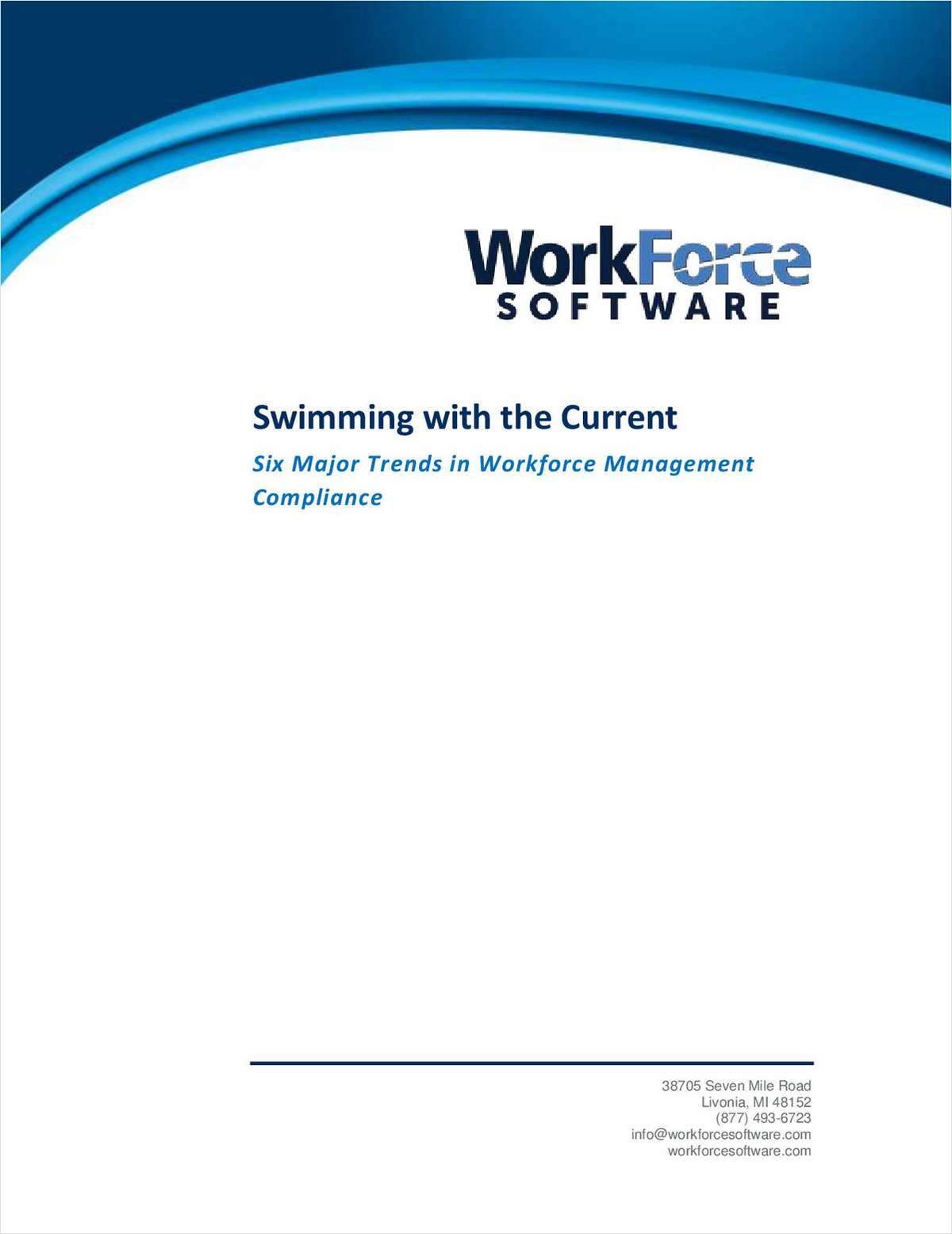 Swimming with the Current: Six Major Trends in Workforce Management Compliance