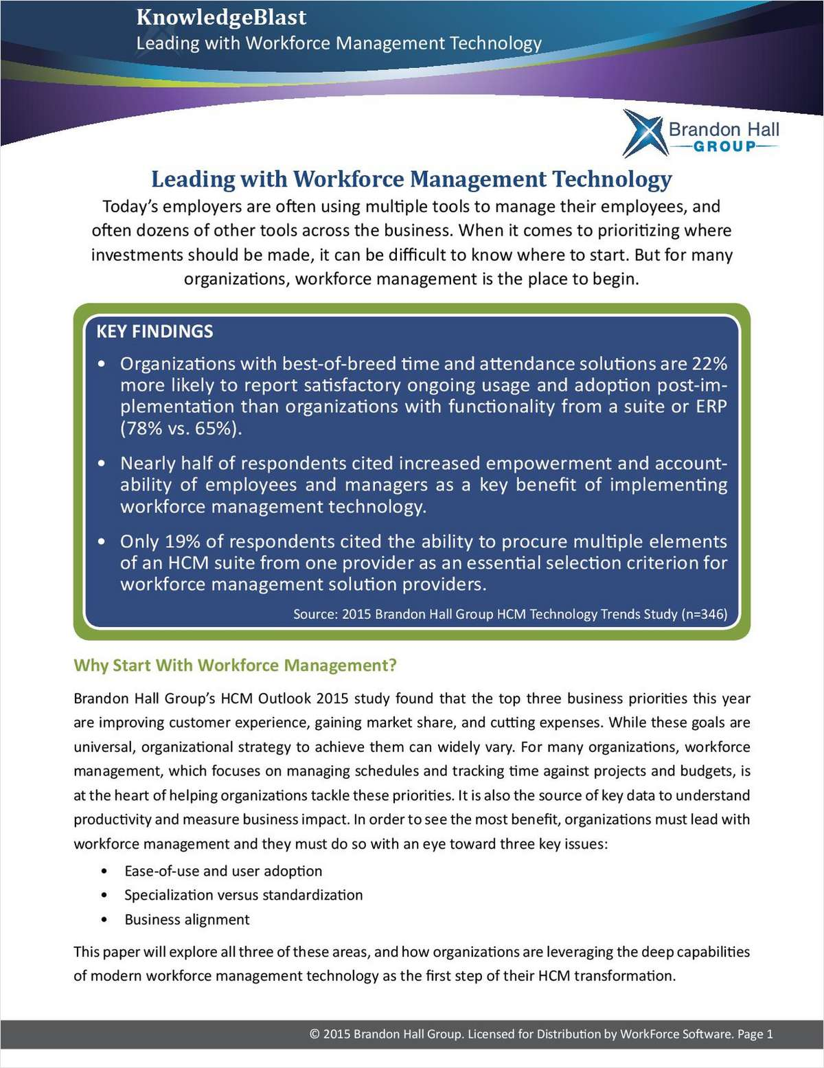 Leading with Workforce Management Technology