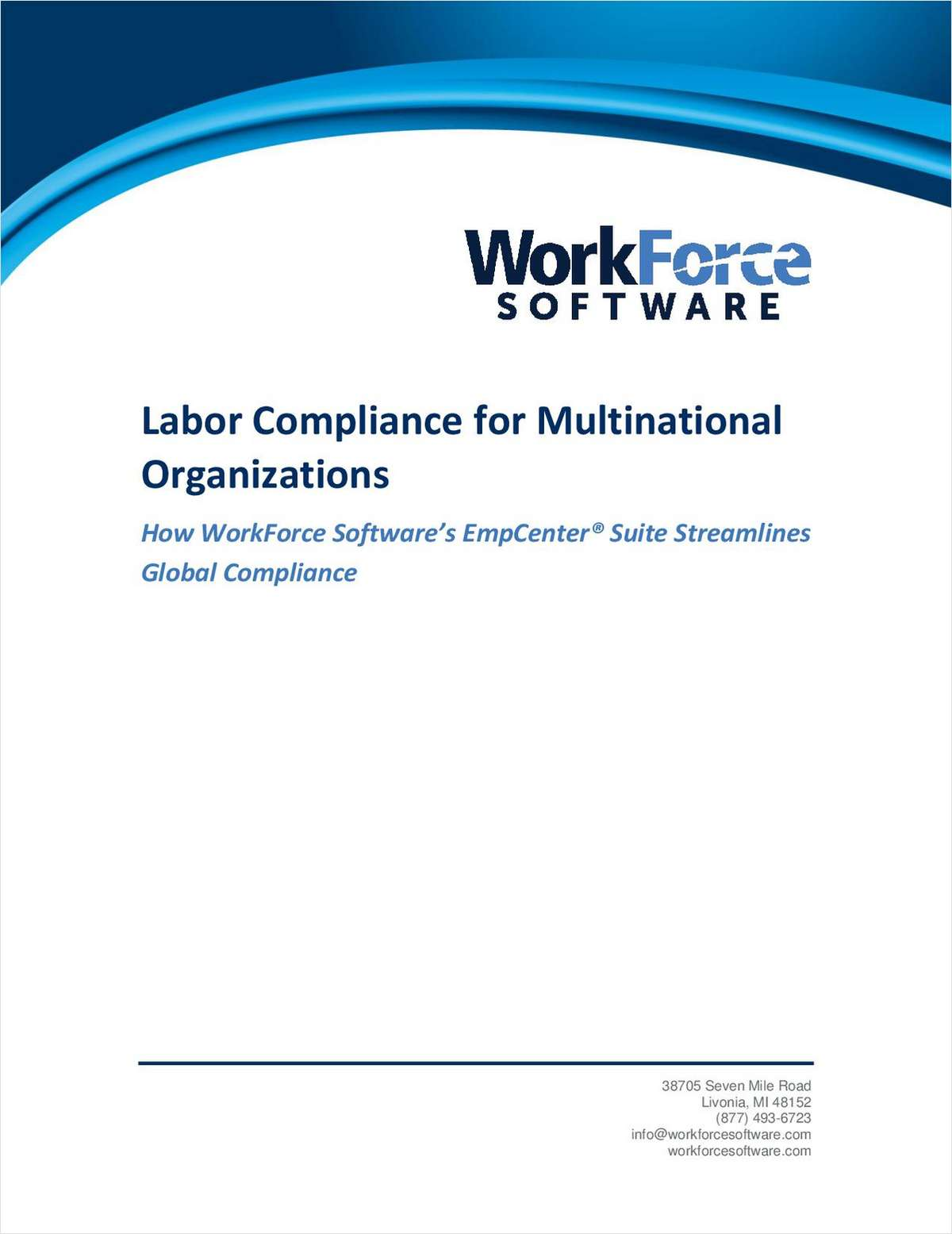 Making HR's Job Easier: Labor Compliance for Multinational Organizations