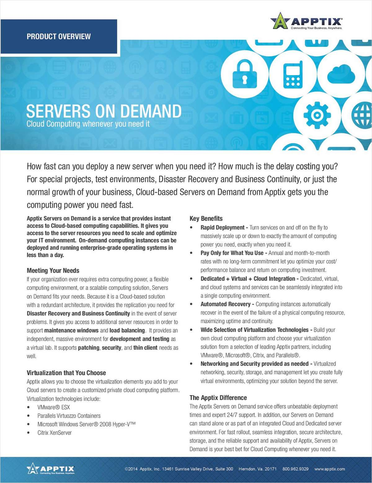 Servers on Demand