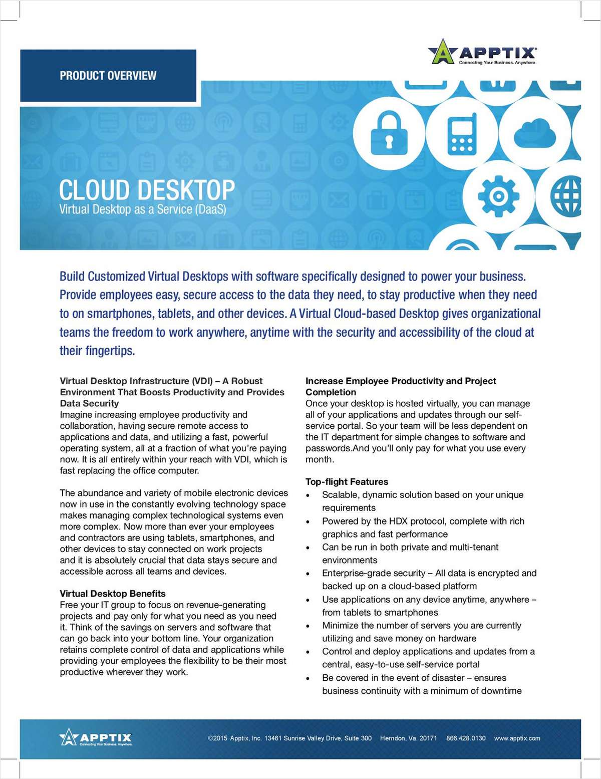 Virtual Desktop Infrastructure (VDI) - A Robust Environment That Boosts Productivity and Provides Data Security